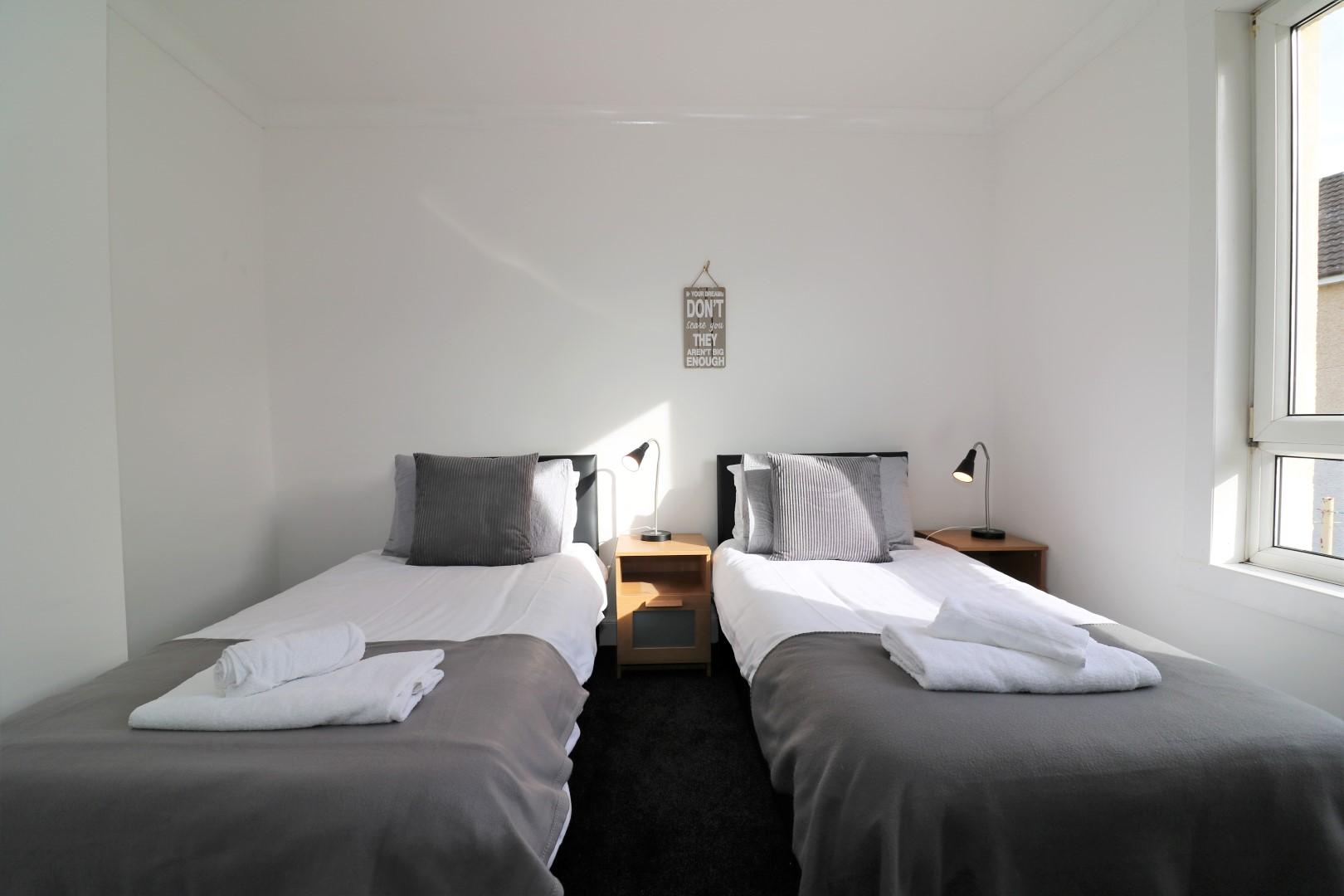 Bedroom at Gartlea House - Citybase Apartments