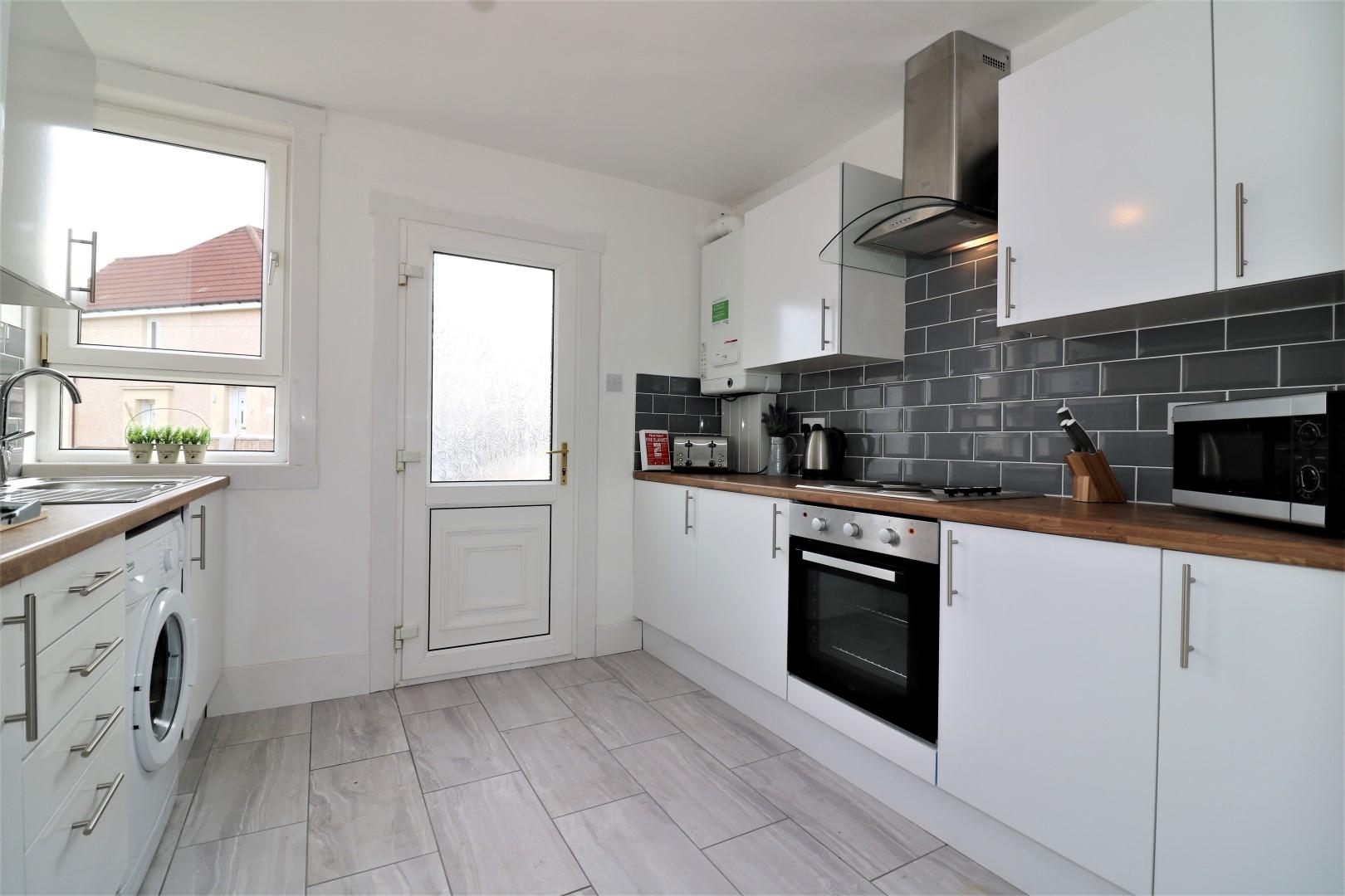 Kitchen at Gartlea House - Citybase Apartments