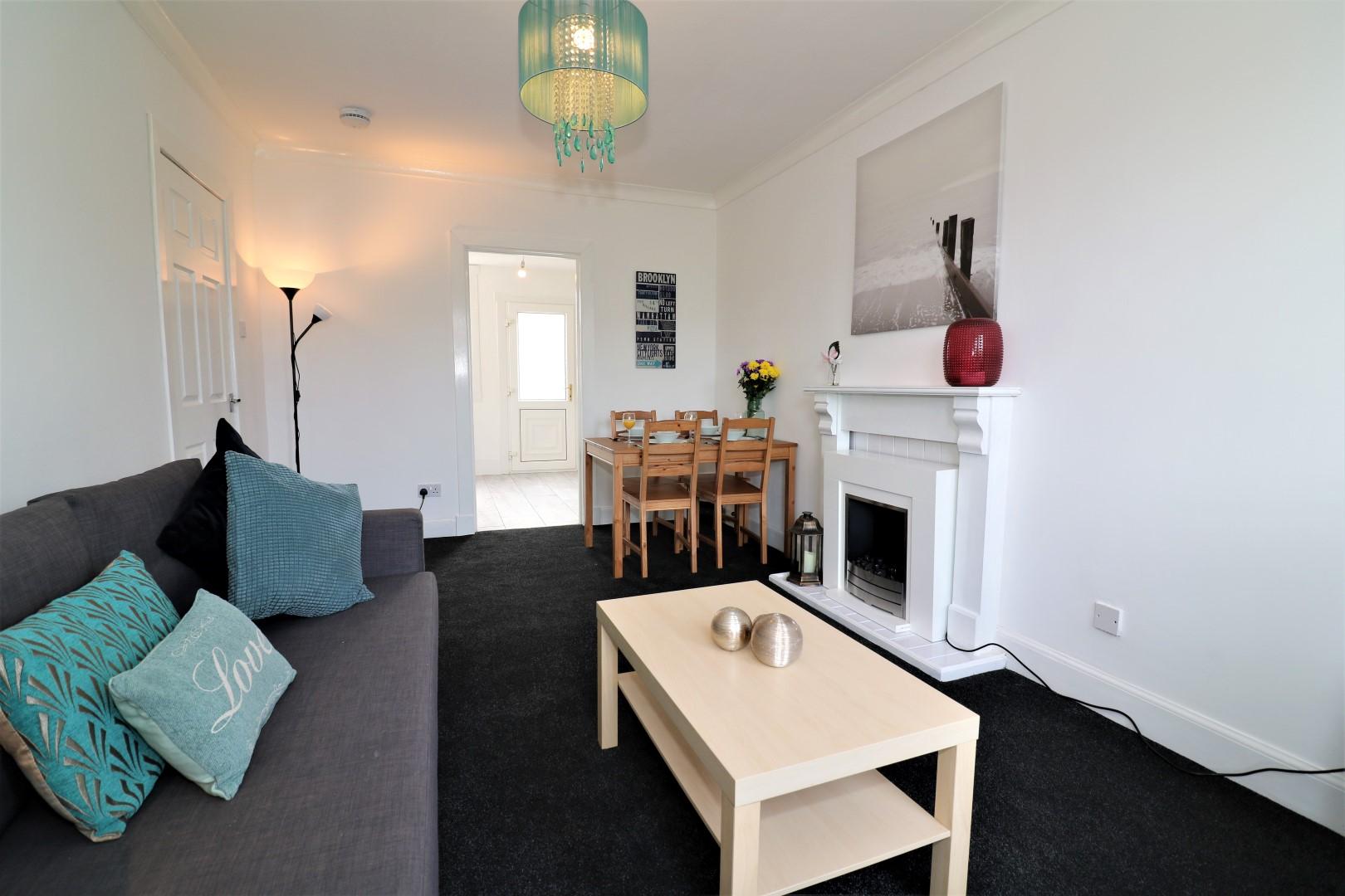 Lounge at Gartlea House - Citybase Apartments