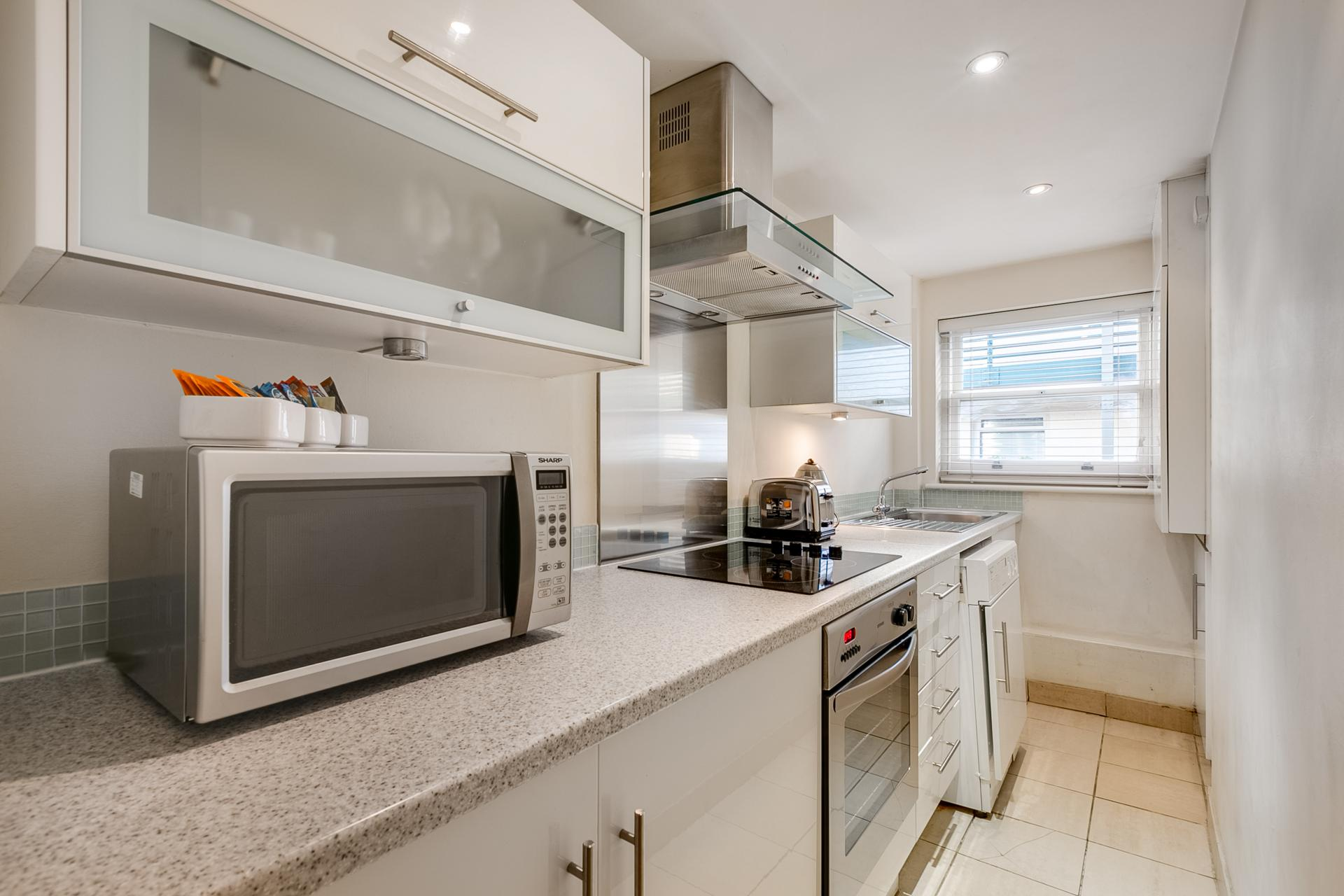 Kitchen at 54 James Street Apartment - Citybase Apartments
