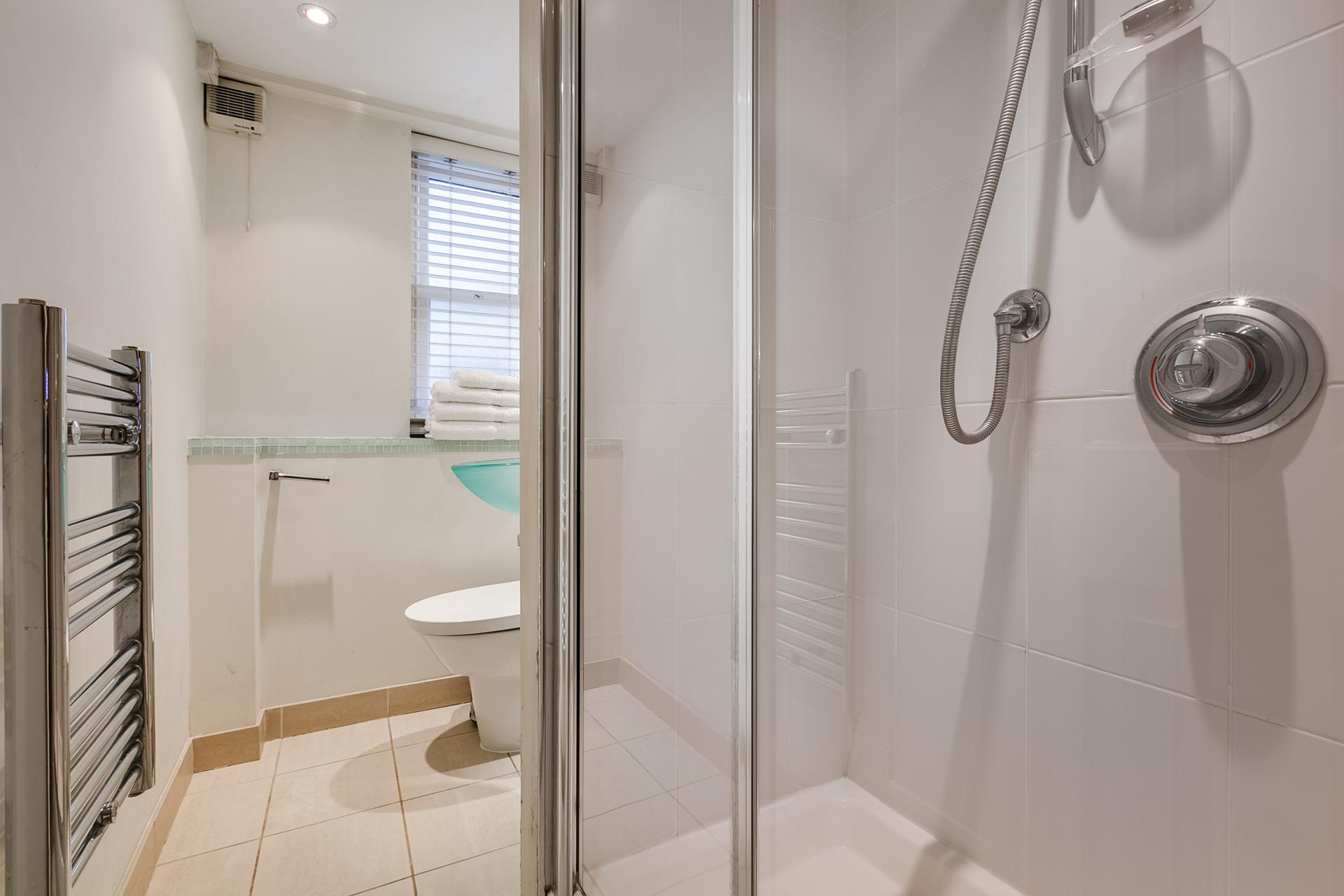 Bathroom at 54 James Street Apartment - Citybase Apartments