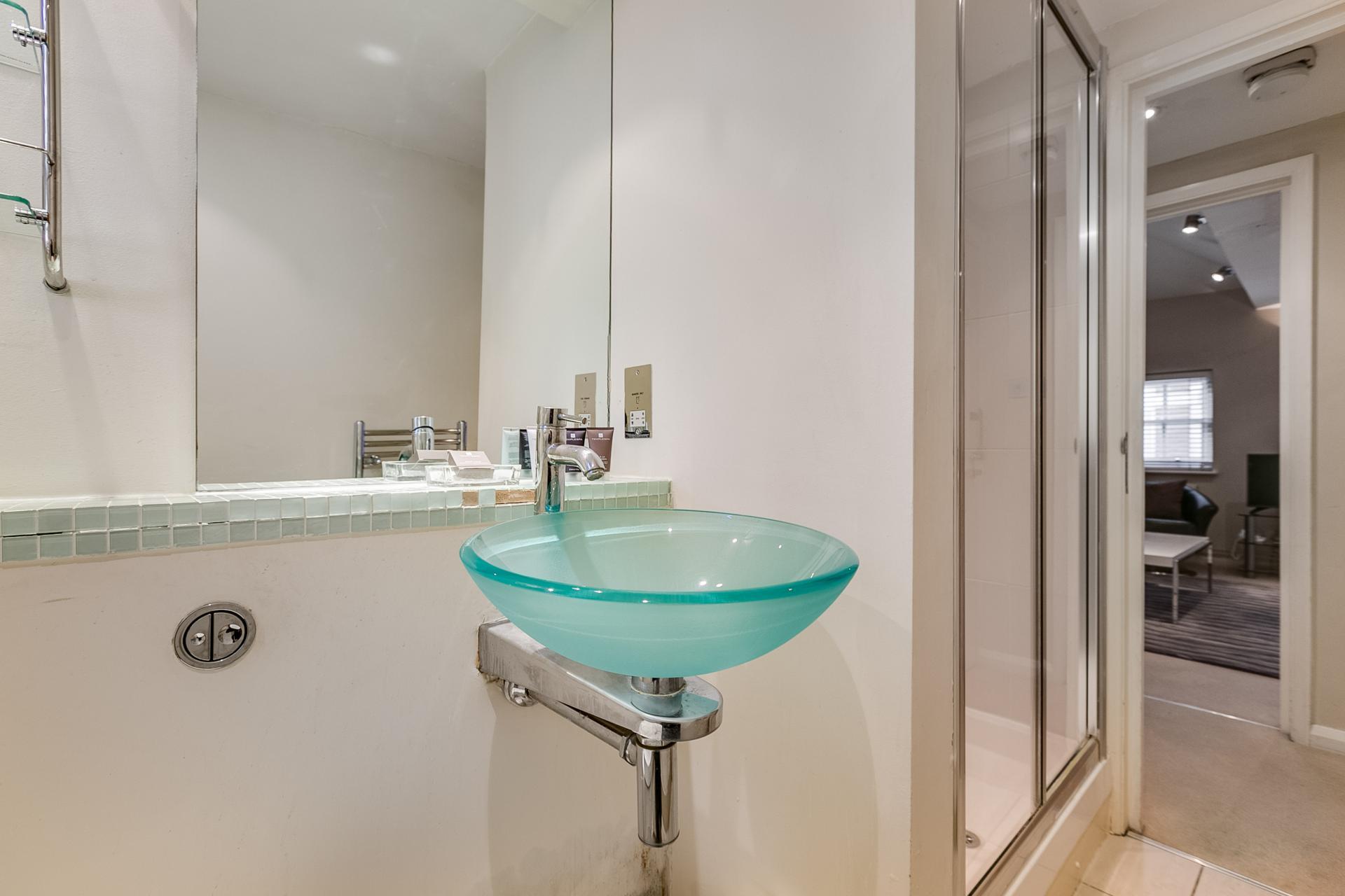 Sink at 54 James Street Apartment - Citybase Apartments