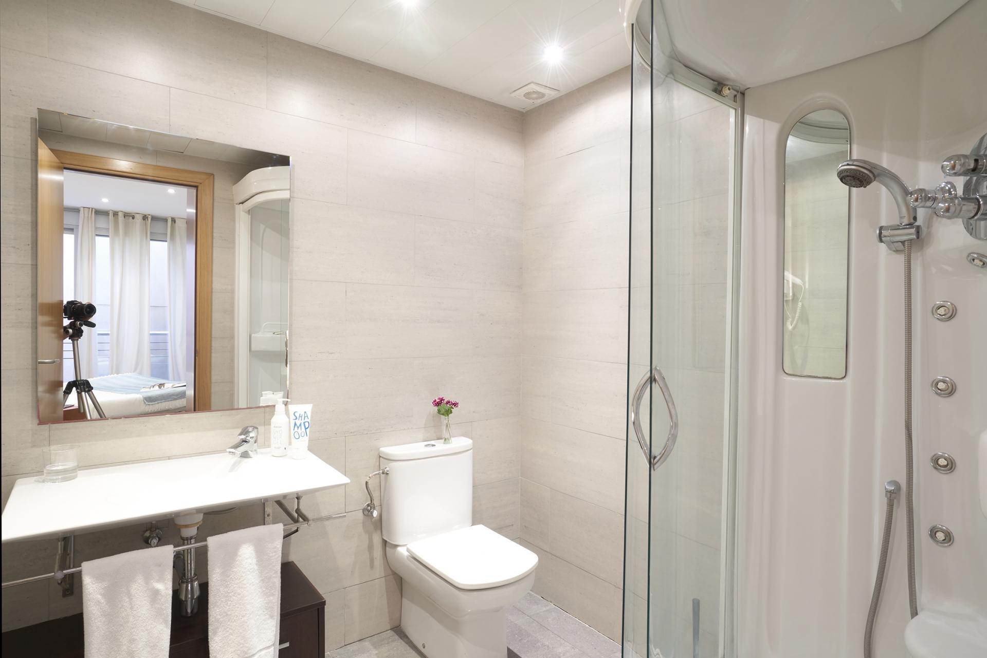 Bathroom at Universidad Apartments - Citybase Apartments