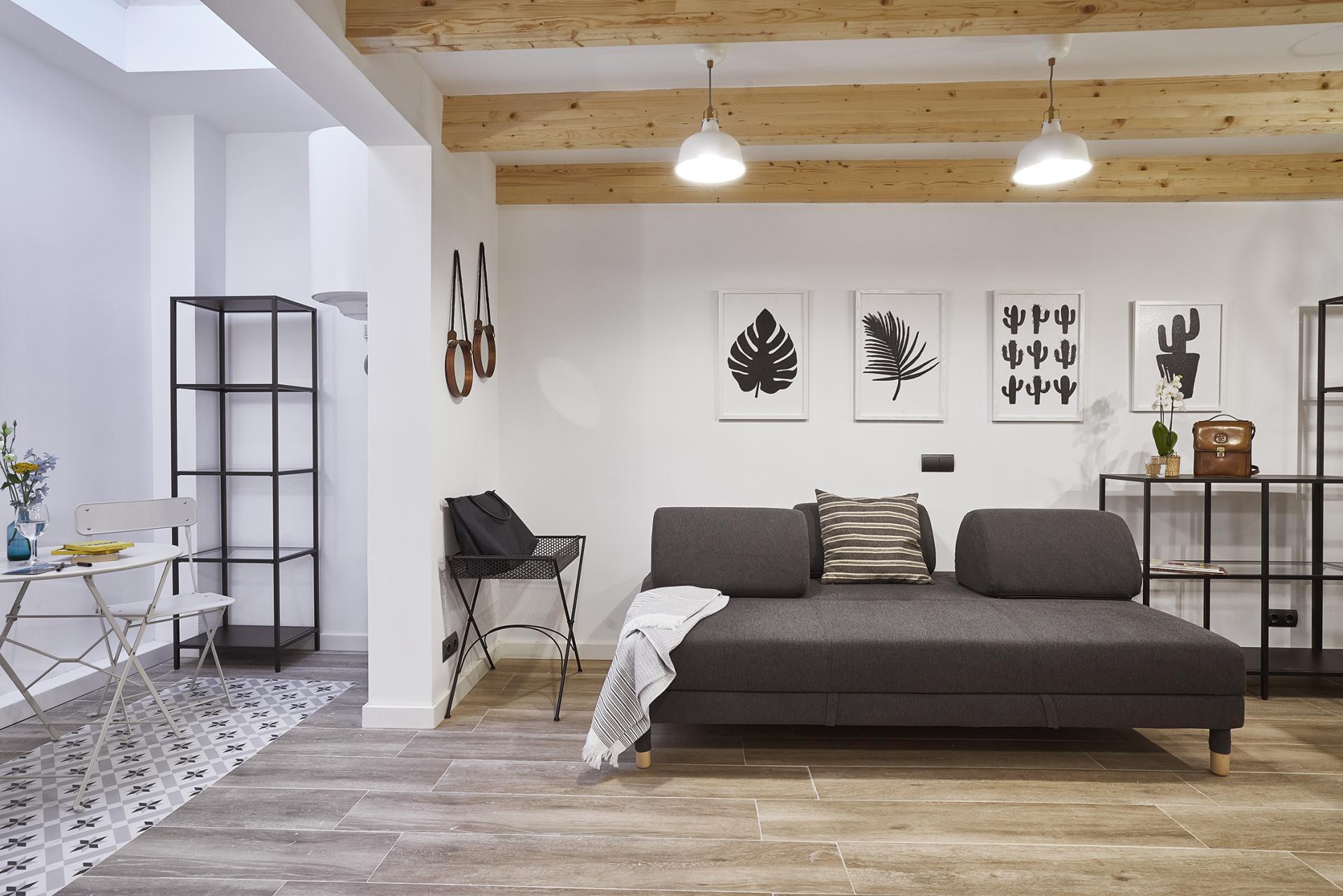 Open area at Eixample Duplex Apartment - Citybase Apartments