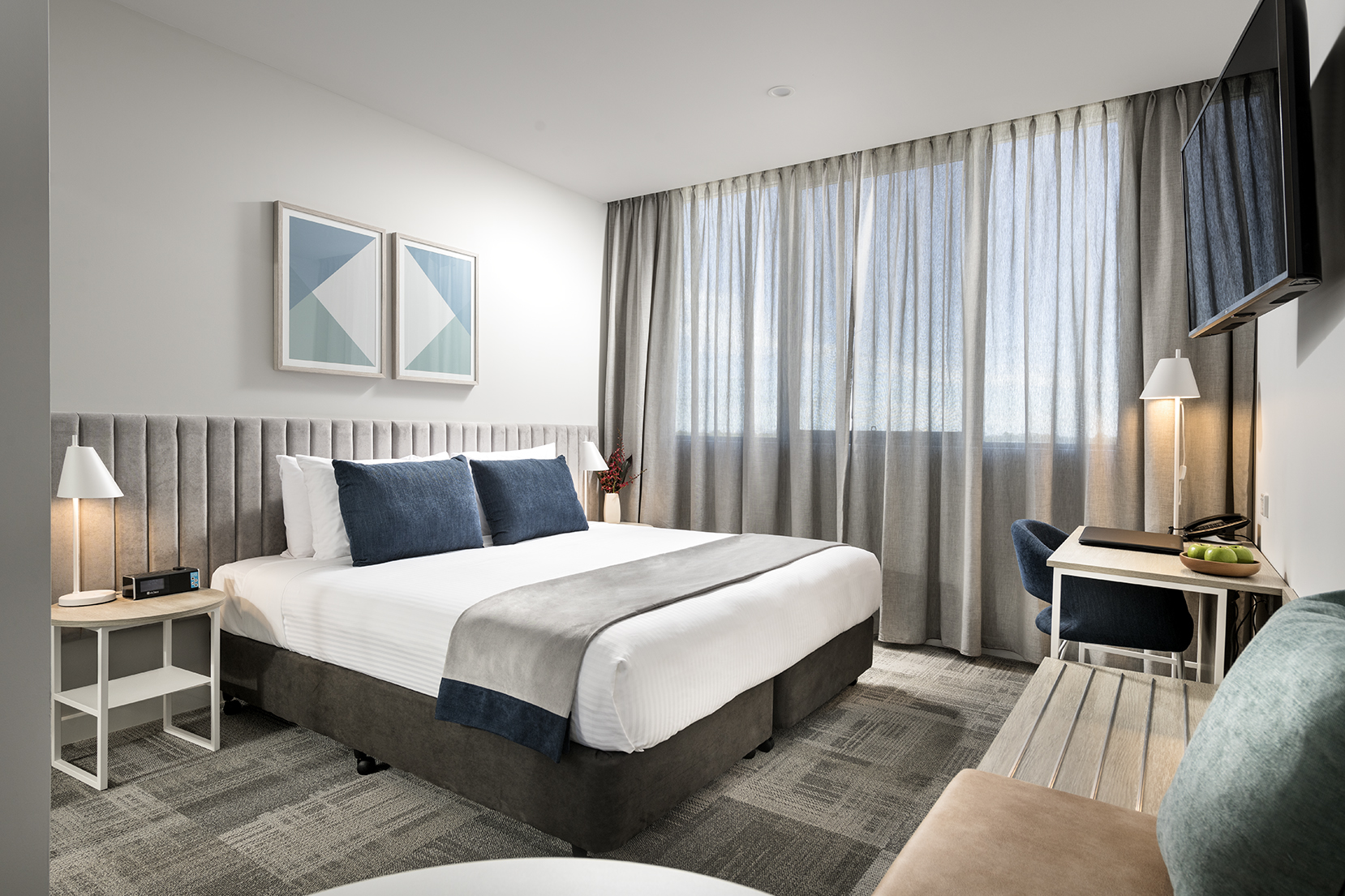 Bedroom at Quest Midland - Citybase Apartments