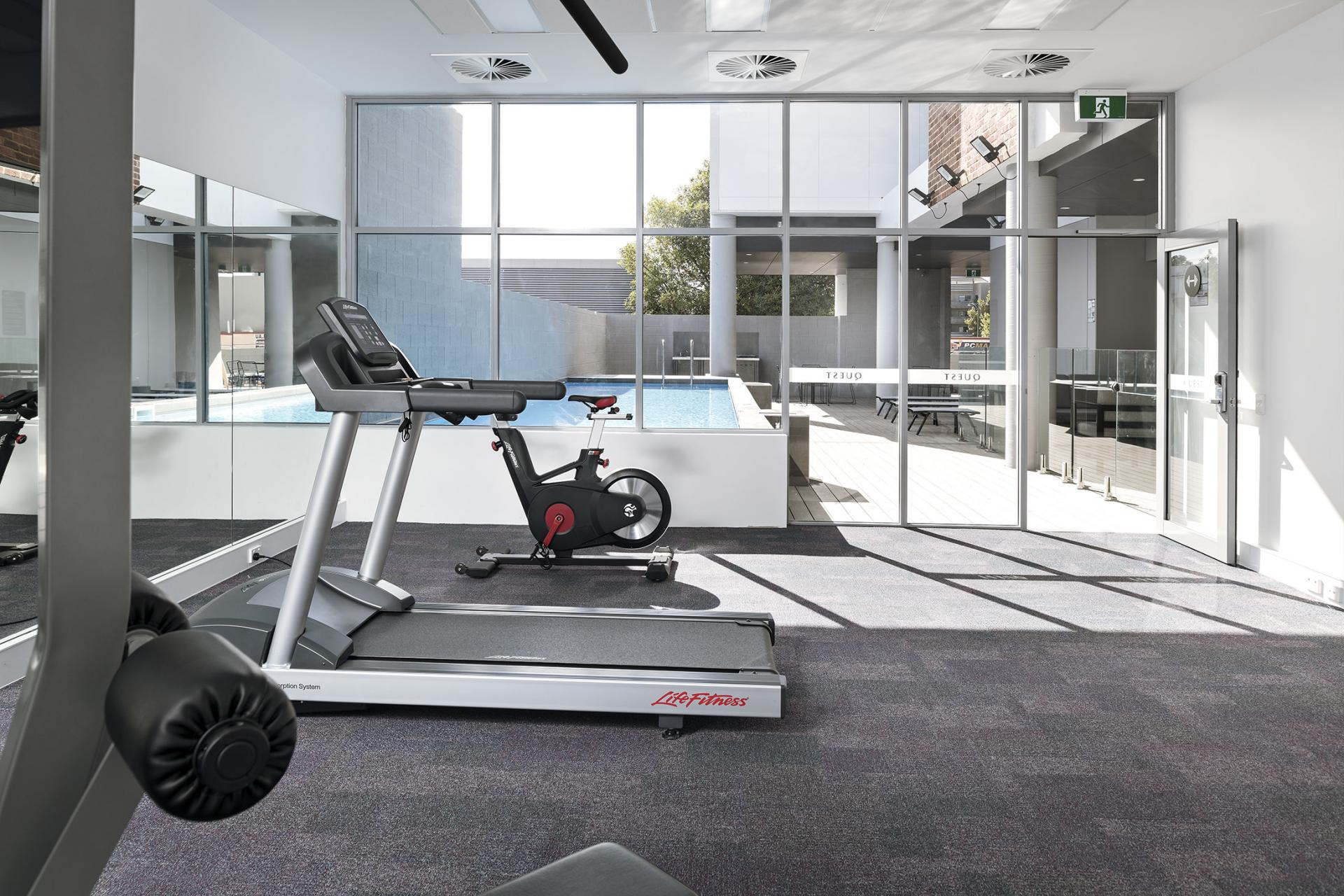 Gym at Quest Midland - Citybase Apartments