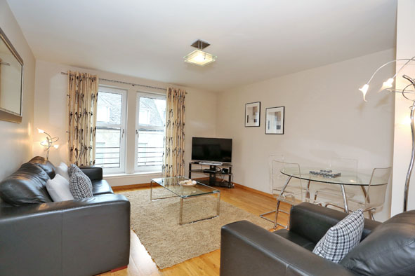 Living room at 67 Chapel Street Apartments - Citybase Apartments
