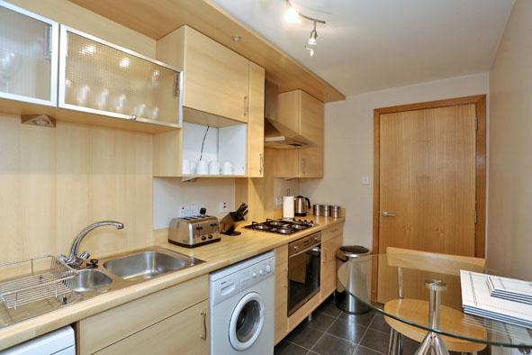 Kitchen at 67 Chapel Street Apartments - Citybase Apartments