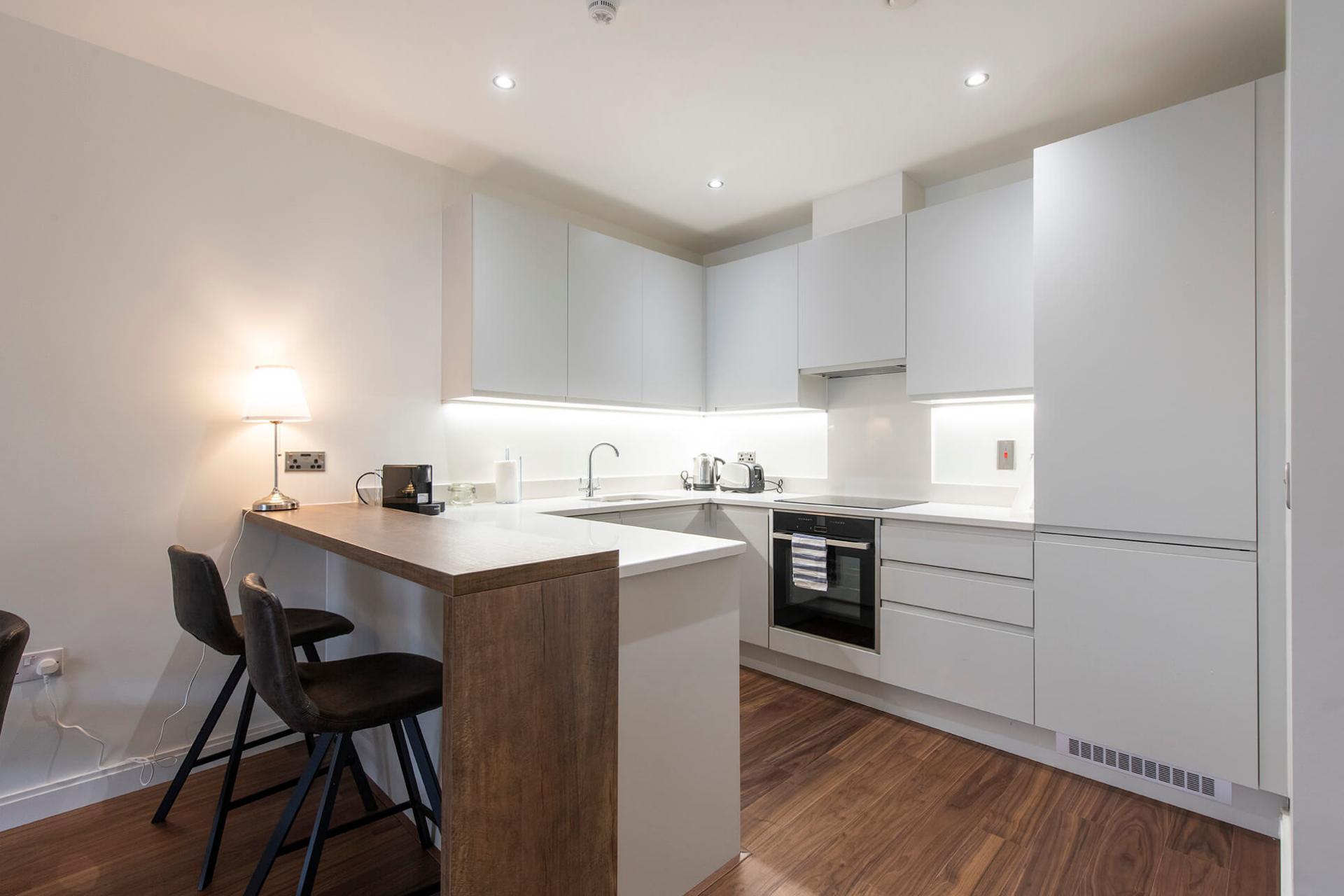 Kitchen at Fernbank Apartments - Citybase Apartments