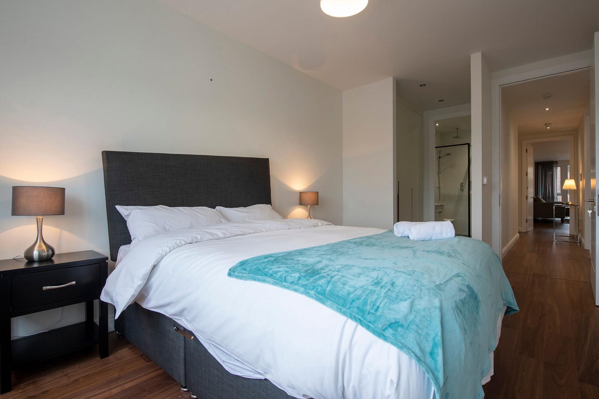 Bedroom at Fernbank Apartments - Citybase Apartments
