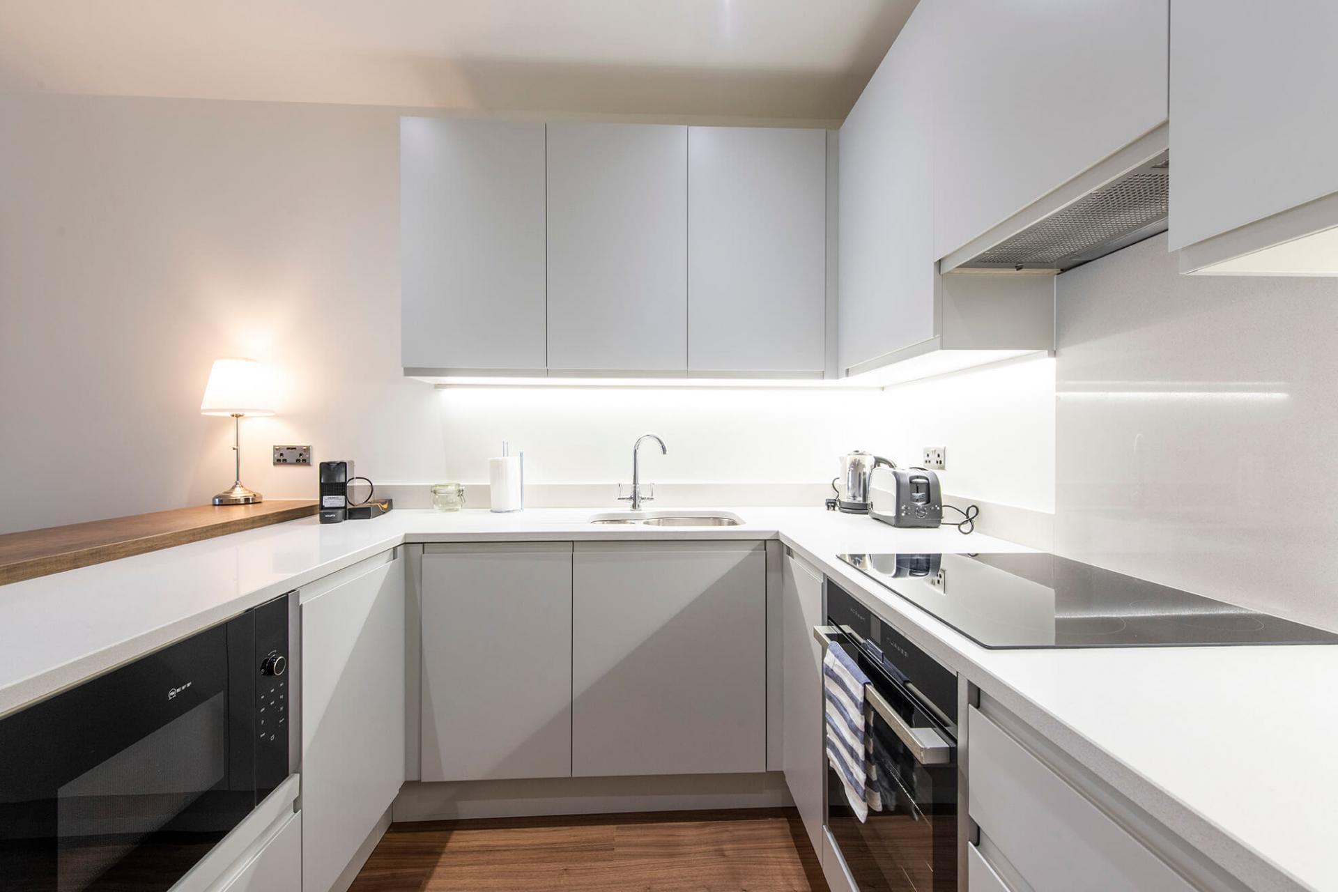 Modern kitchen at Fernbank Apartments - Citybase Apartments