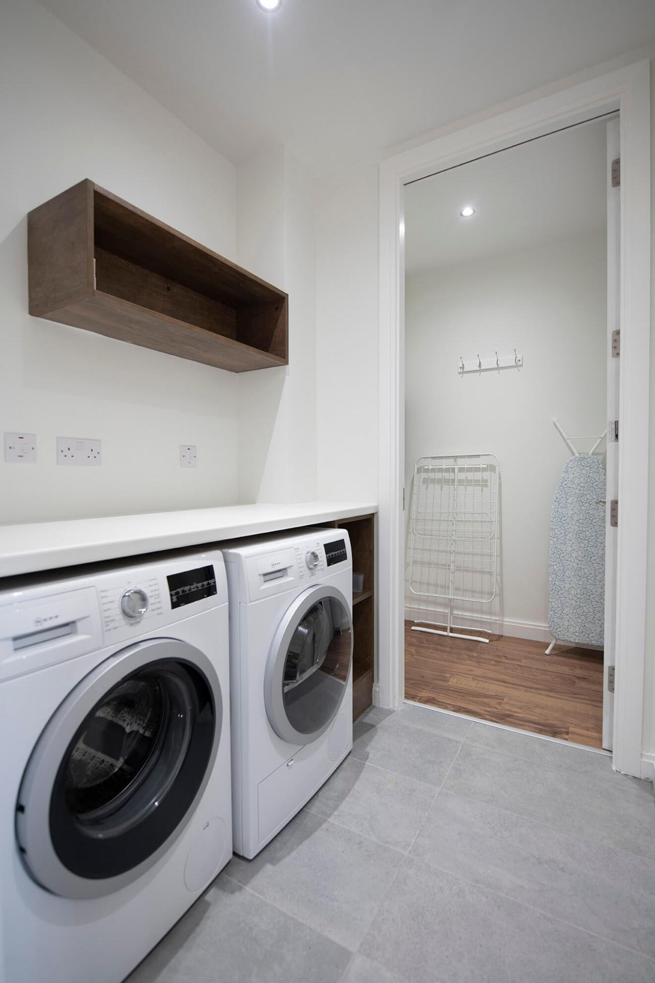 Laundry facilities at Fernbank Apartments - Citybase Apartments