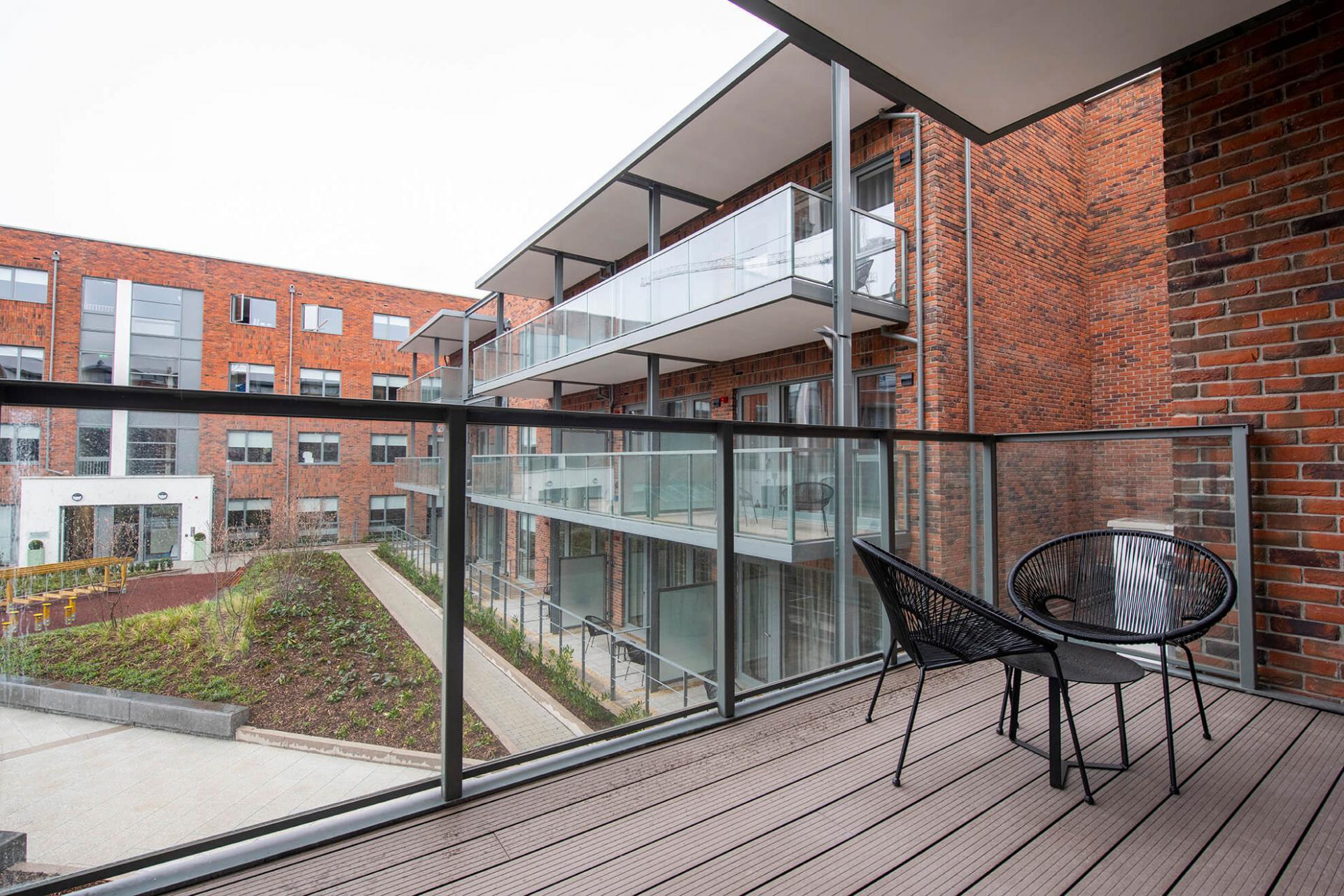 Balcony at Fernbank Apartments - Citybase Apartments