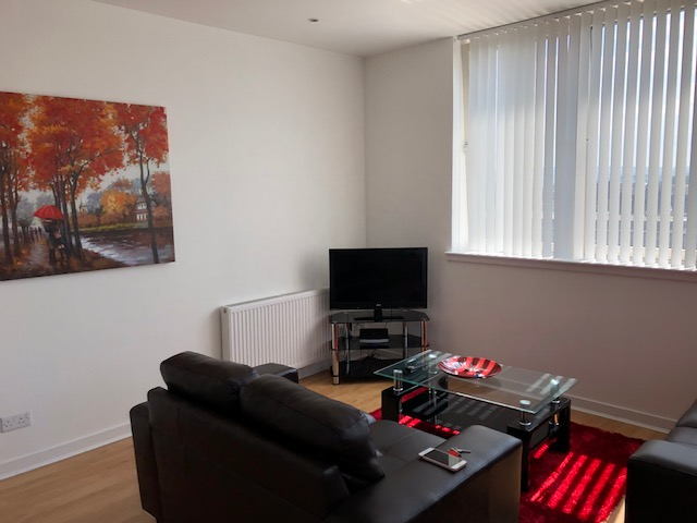 TV at Oswald Street Serviced Apartments - Citybase Apartments
