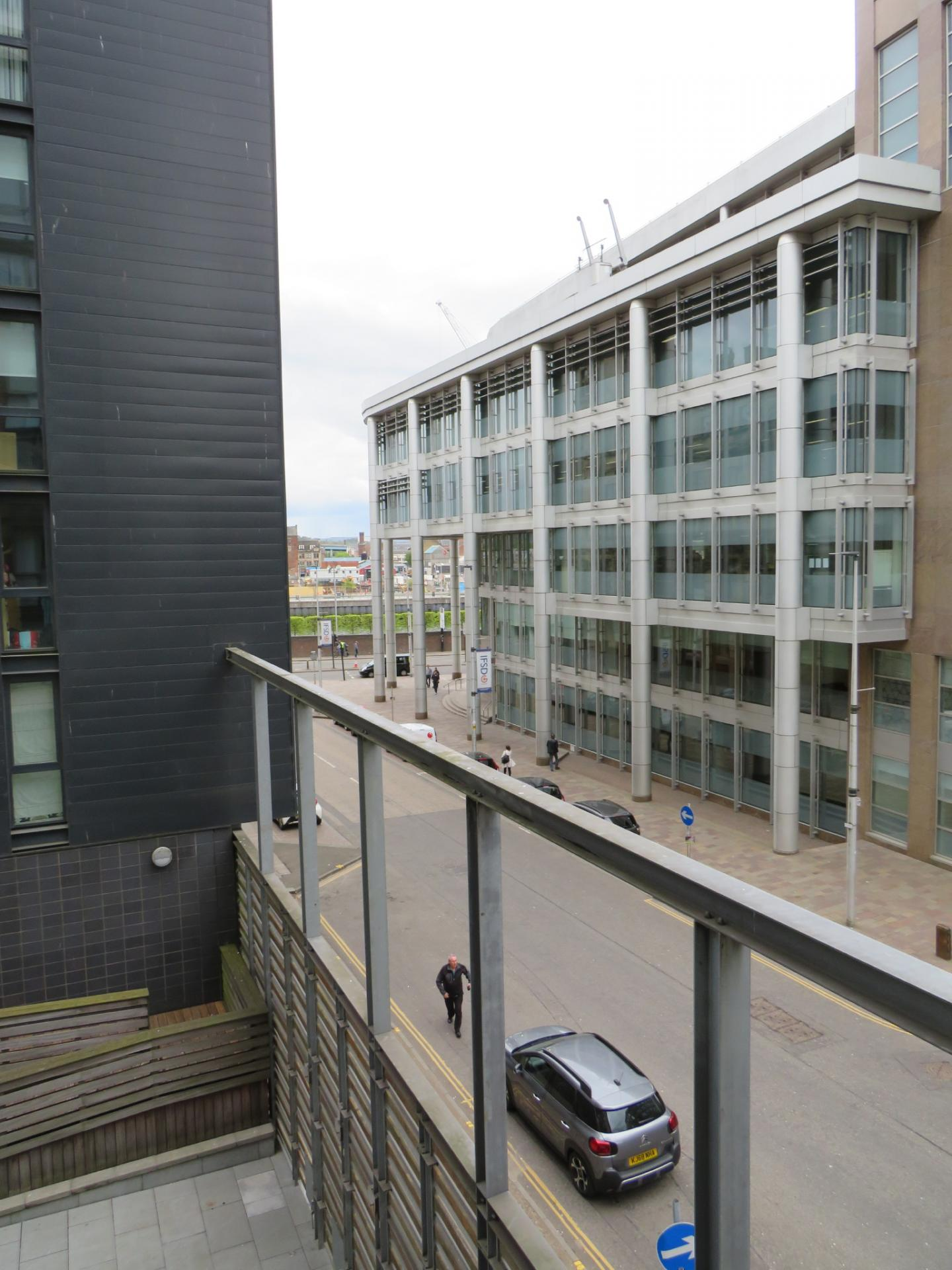 Balcony at Oswald Street Serviced Apartments - Citybase Apartments