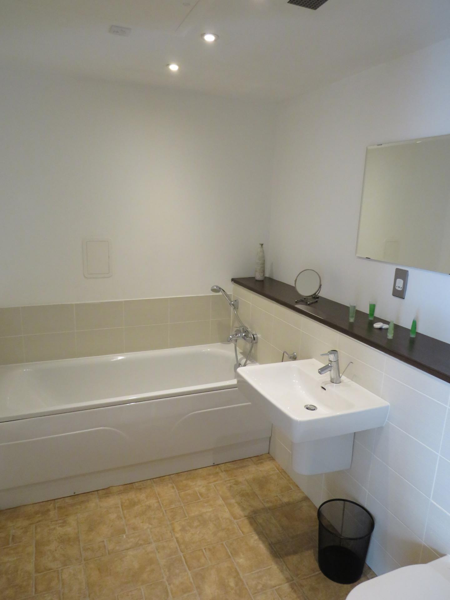 Bath at Oswald Street Serviced Apartments - Citybase Apartments