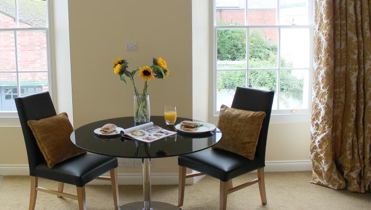 Dining area in St Davids Apartments - Citybase Apartments