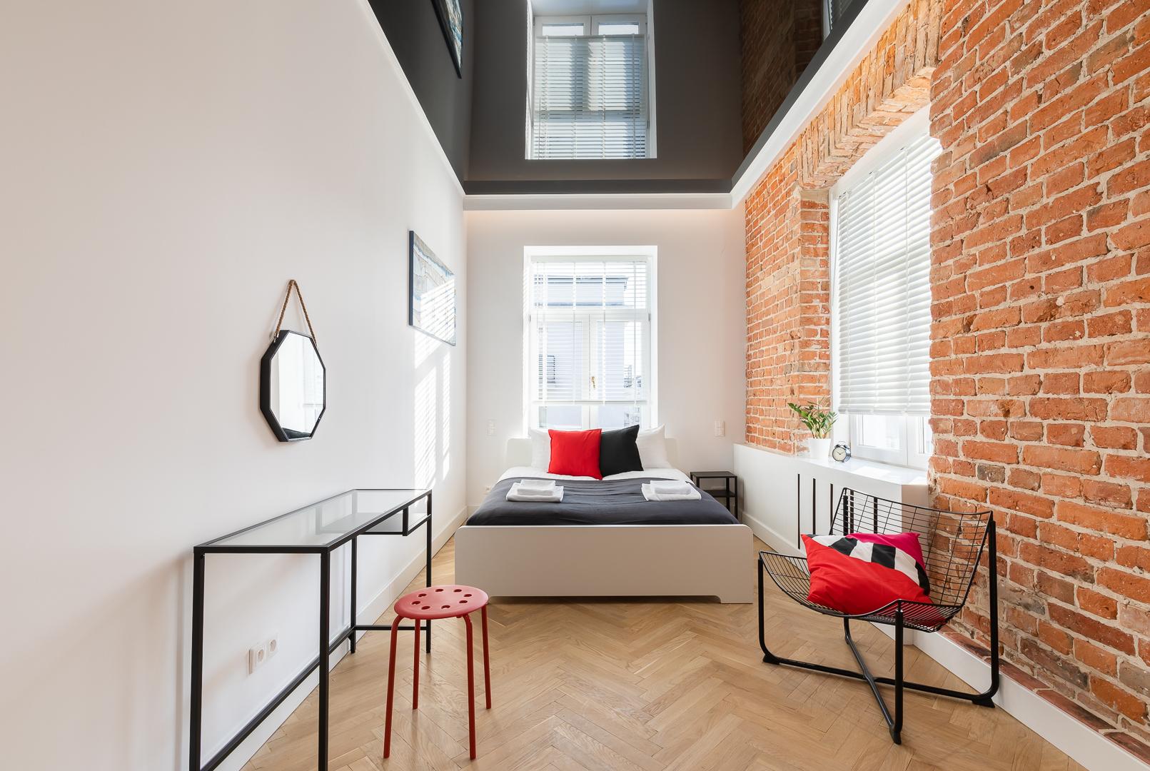 Bedroom at Wspolna Apartments - Citybase Apartments