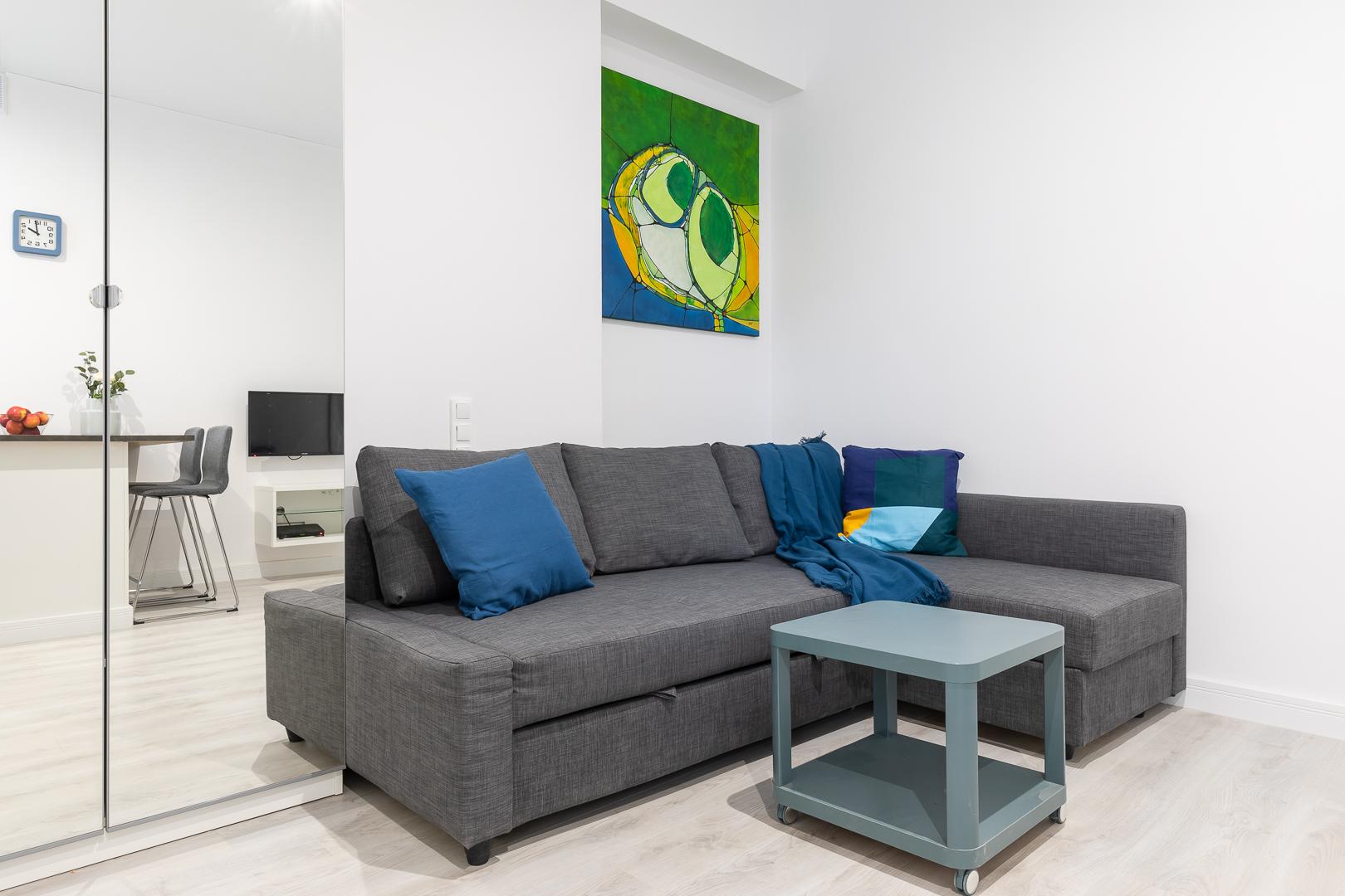Studio at Wspolna Apartments - Citybase Apartments