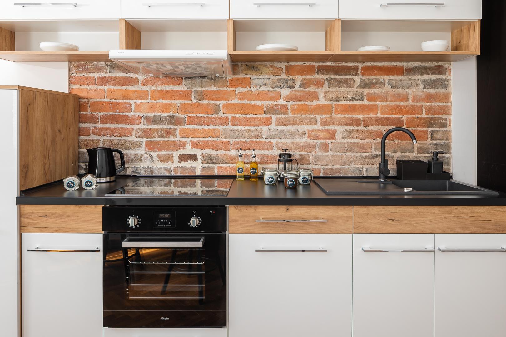 Oven at Wspolna Apartments - Citybase Apartments