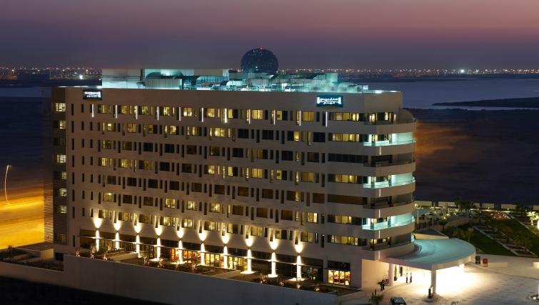 Exterior of Staybridge Suites Abu Dhabi - Yas Island - Citybase Apartments