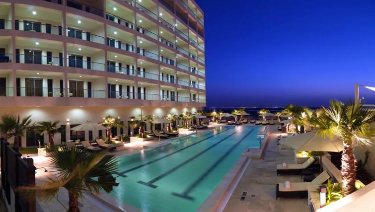 Pool in Staybridge Suites Abu Dhabi - Yas Island - Citybase Apartments