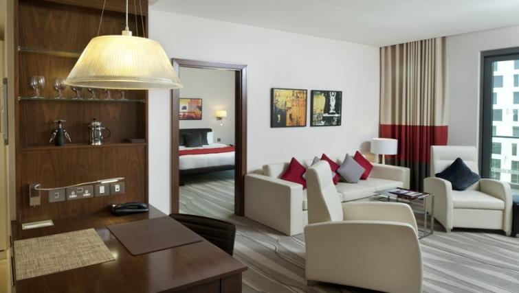 Bright bedroom in Staybridge Suites Abu Dhabi - Yas Islandq - Citybase Apartments