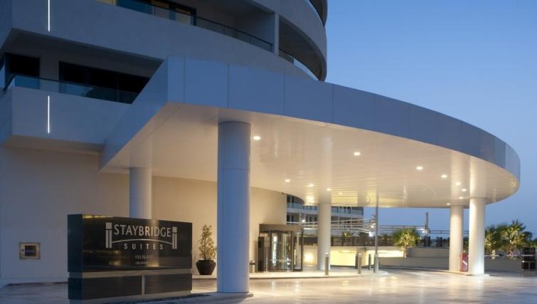 Attractive exterior of Staybridge Suites Abu Dhabi - Yas Island - Citybase Apartments