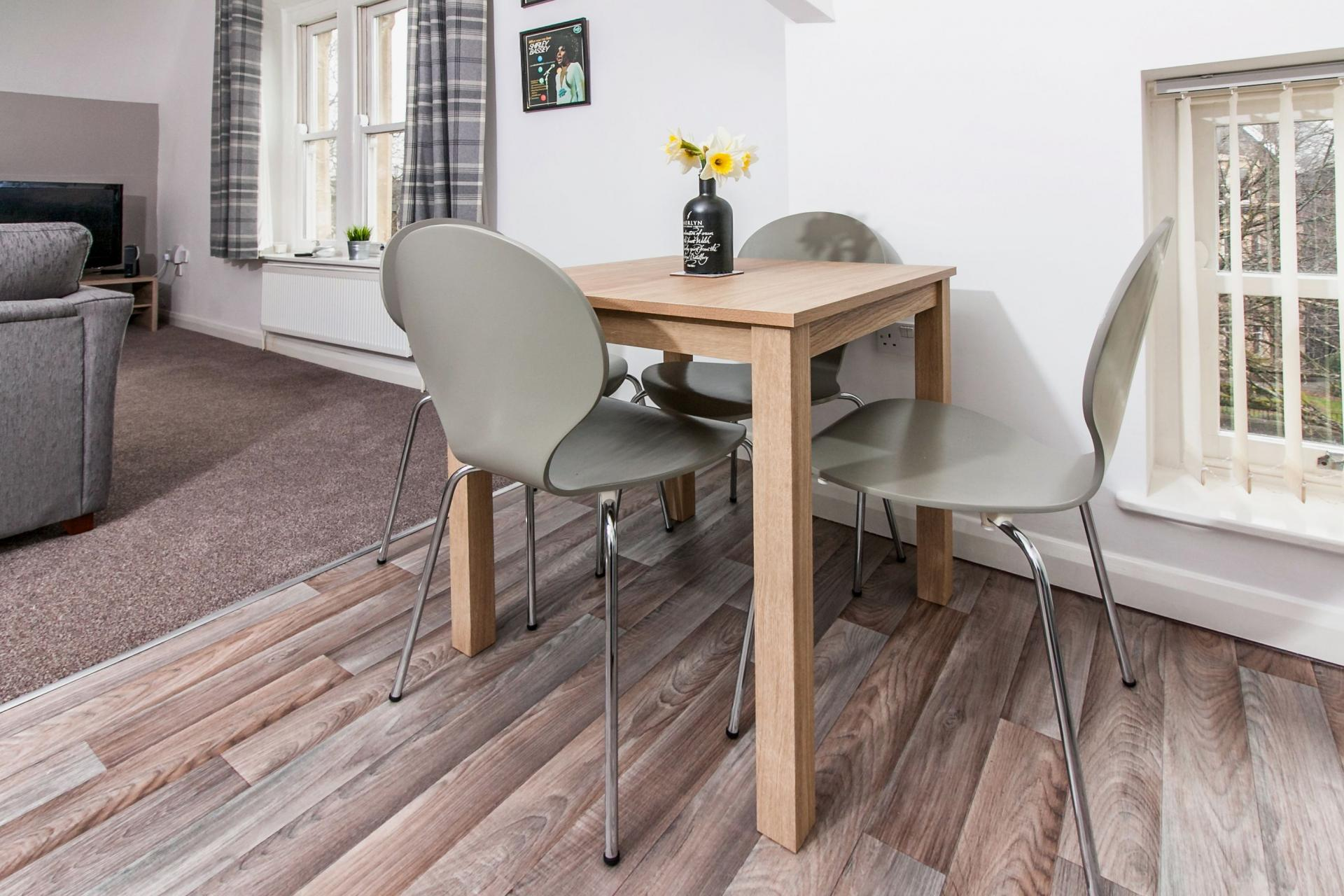 Dining table at Sofia Apartment - Citybase Apartments