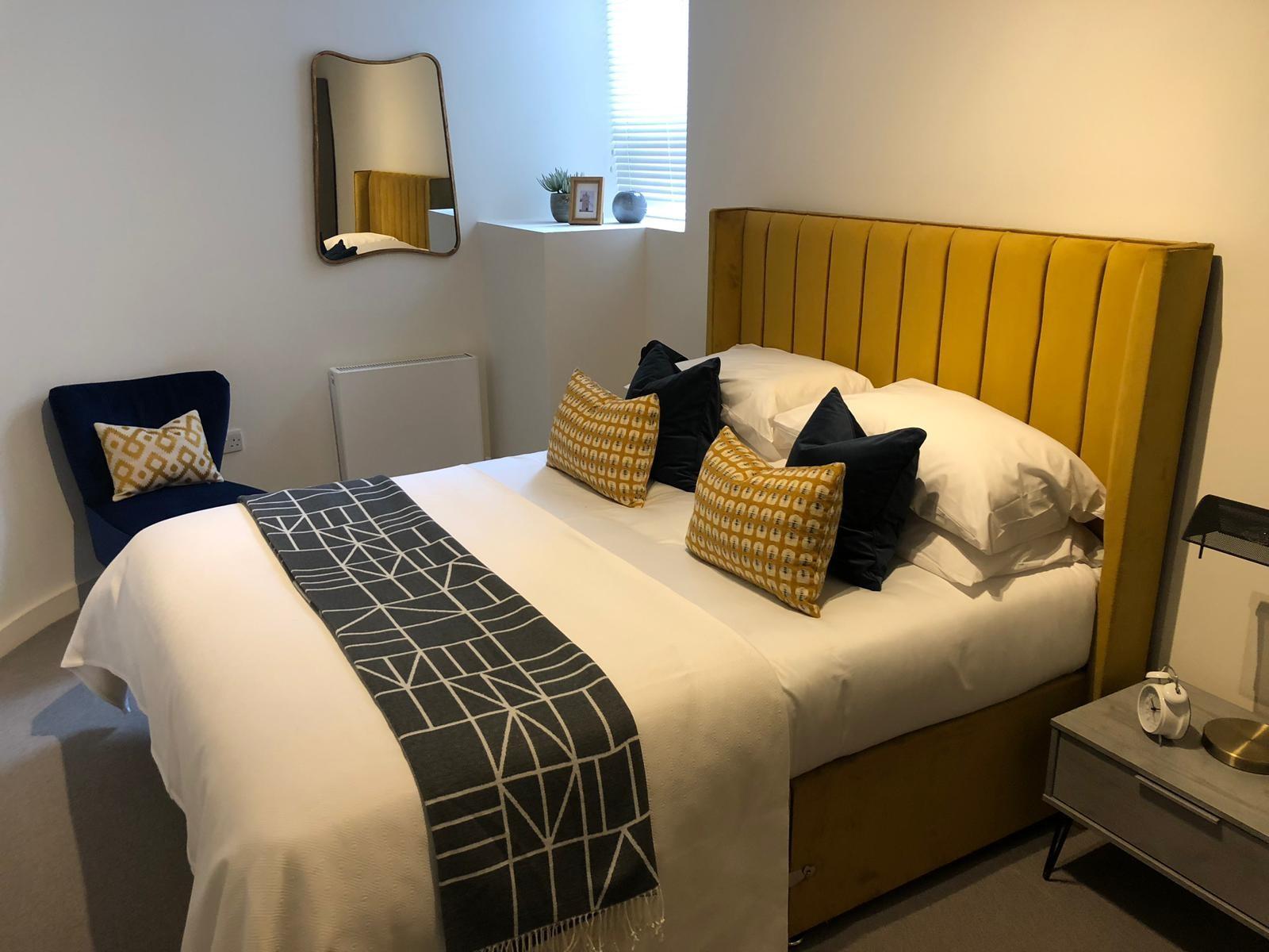 Bedroom at Shoreditch Apartments - Citybase Apartments