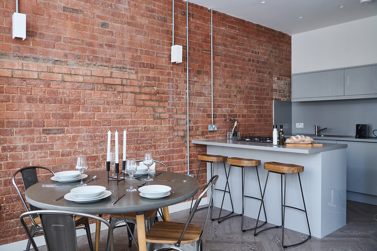 Open-plan at The Residence at Shoreditch Apartments - Citybase Apartments