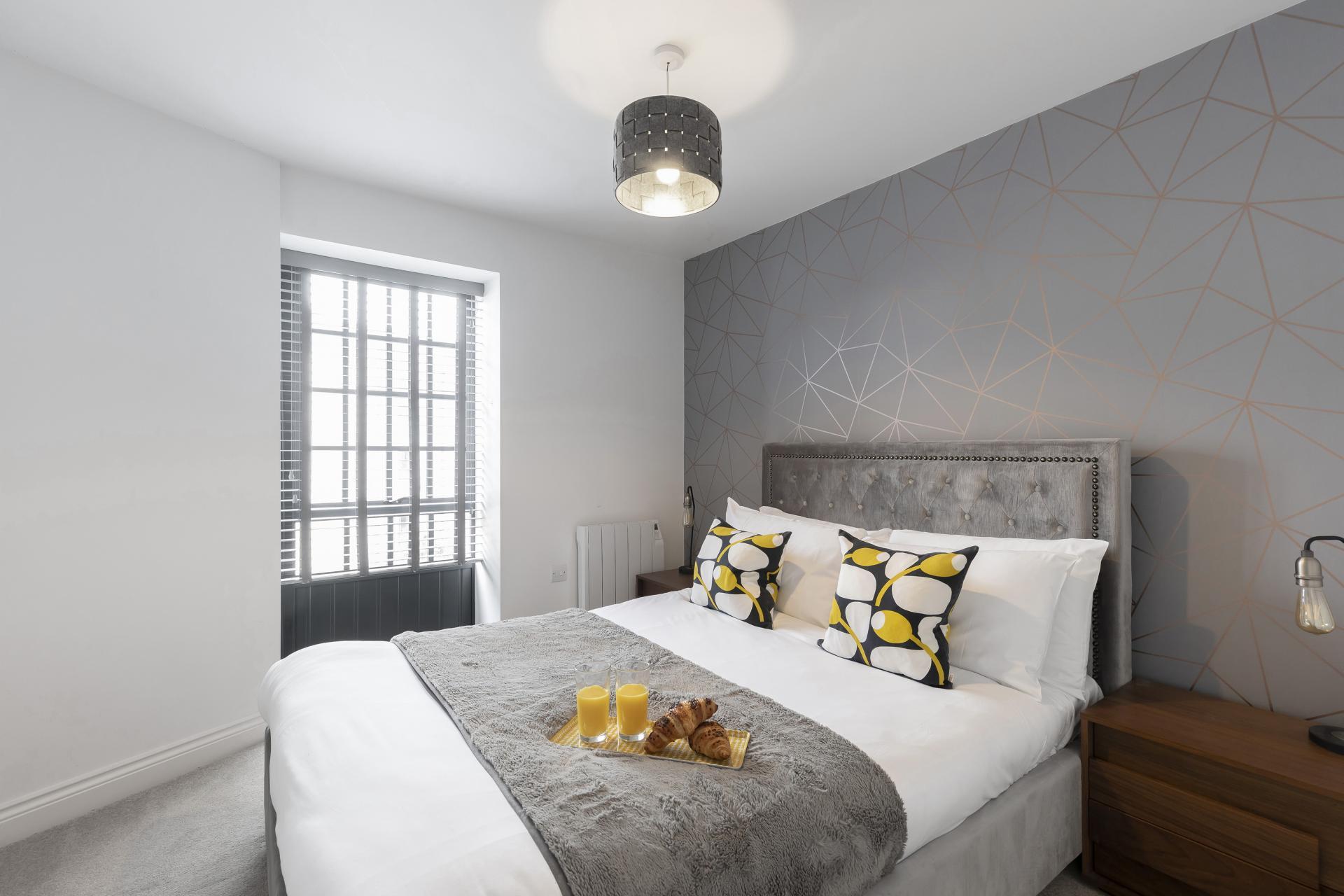 Bedroom at  Axiom No. 8 Apartment - Citybase Apartments