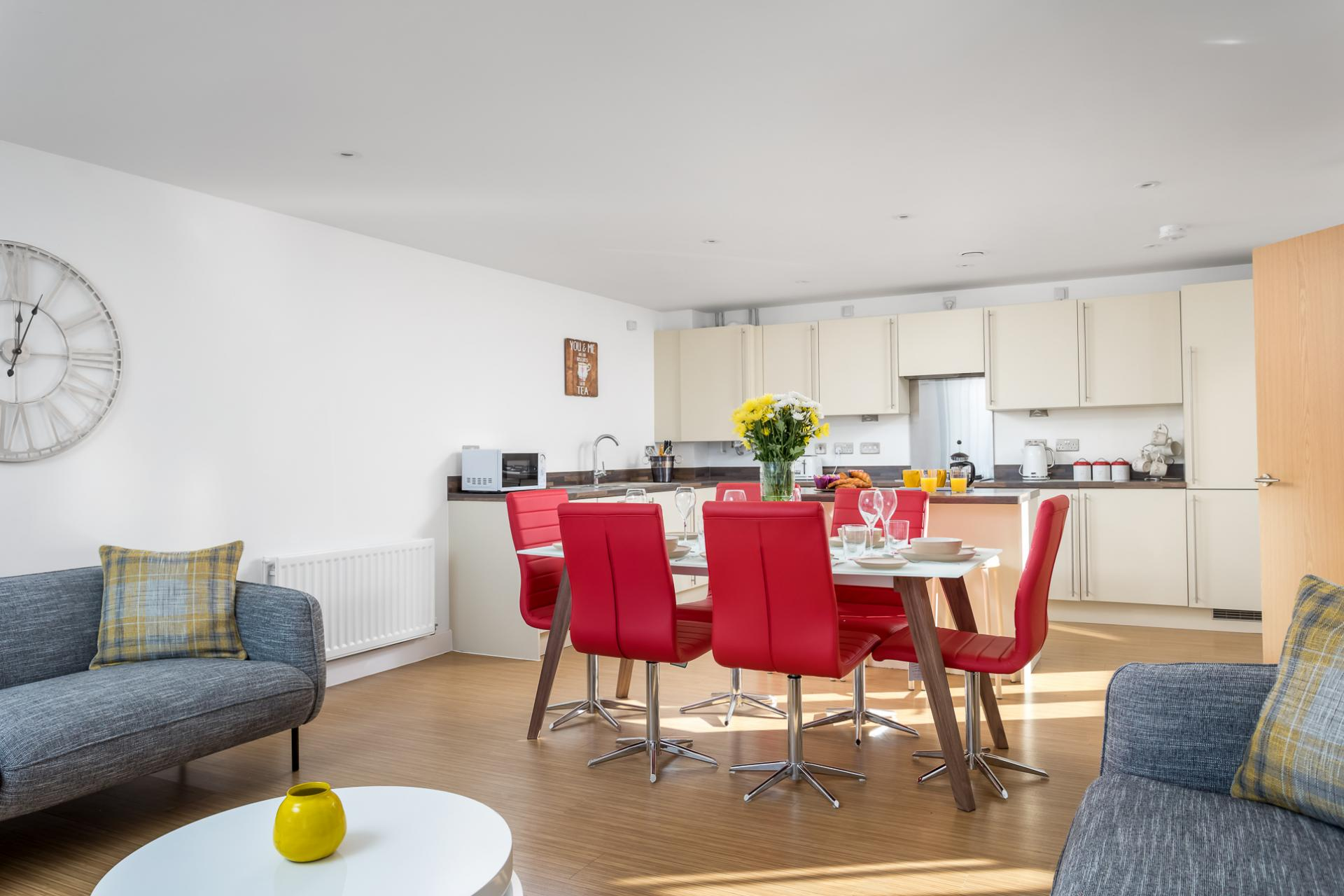 Table at Prince Regent Mews Apartment - Citybase Apartments