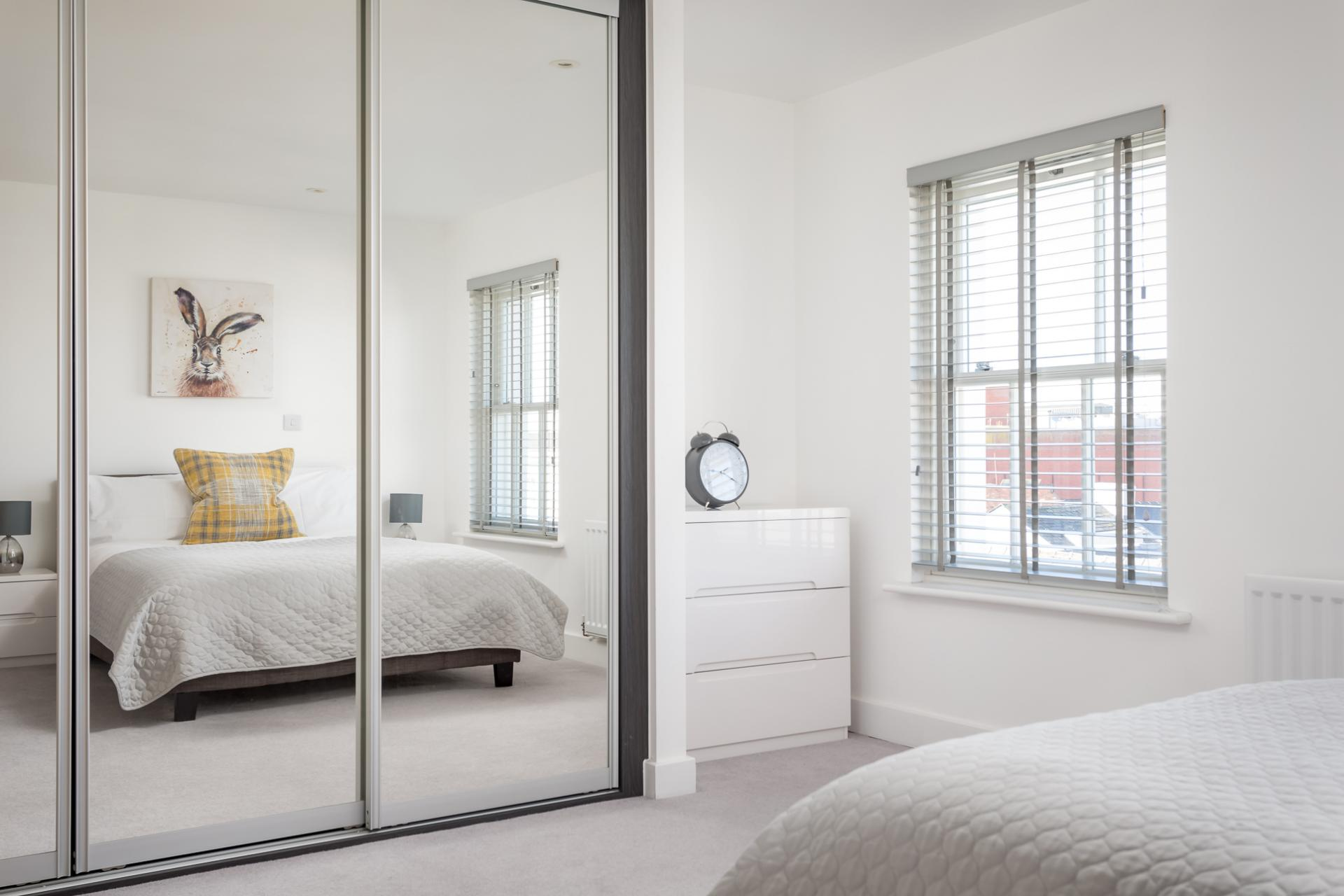Wardrobe at Prince Regent Mews Apartment - Citybase Apartments