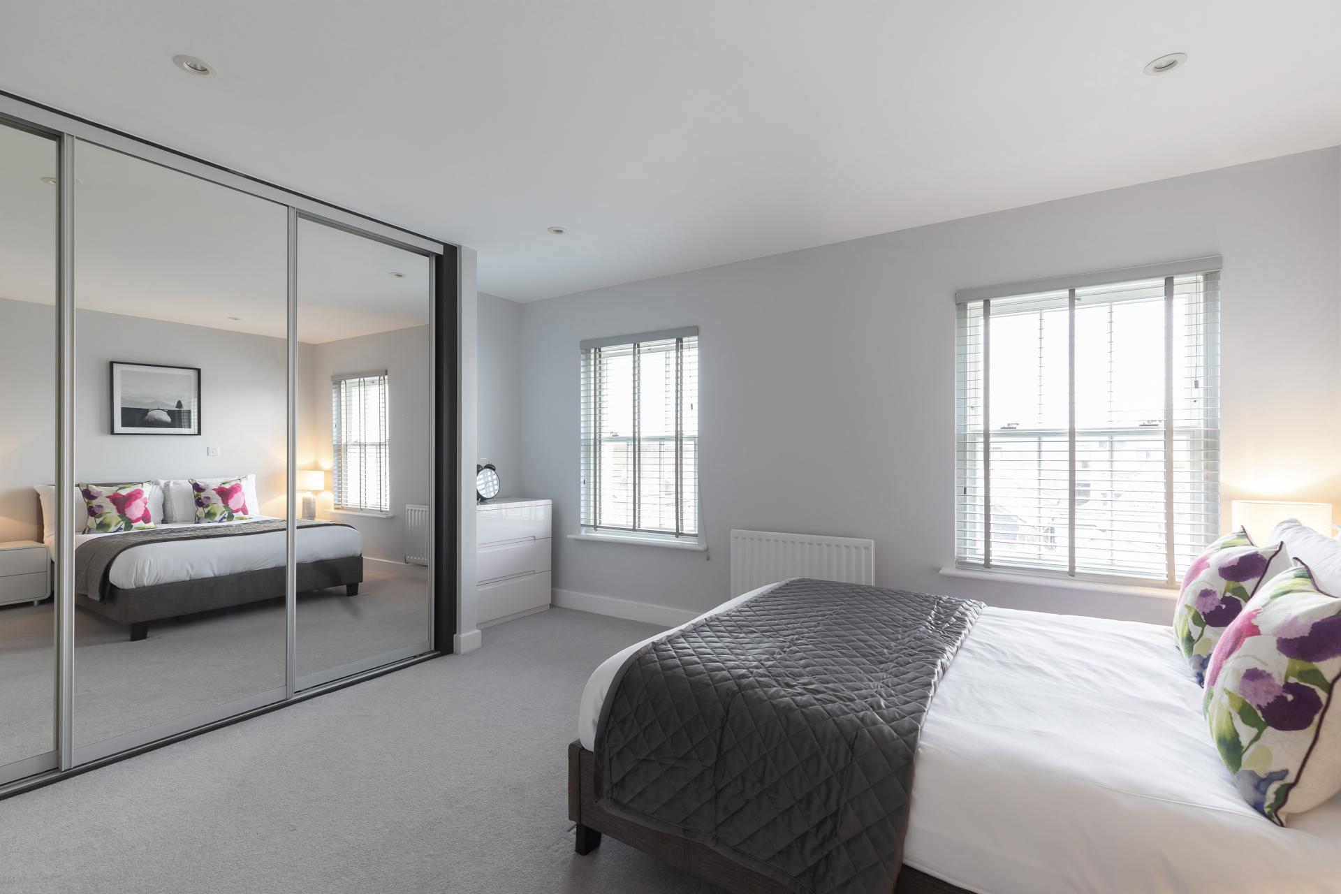 Mirror at Prince Regent Mews Apartment - Citybase Apartments