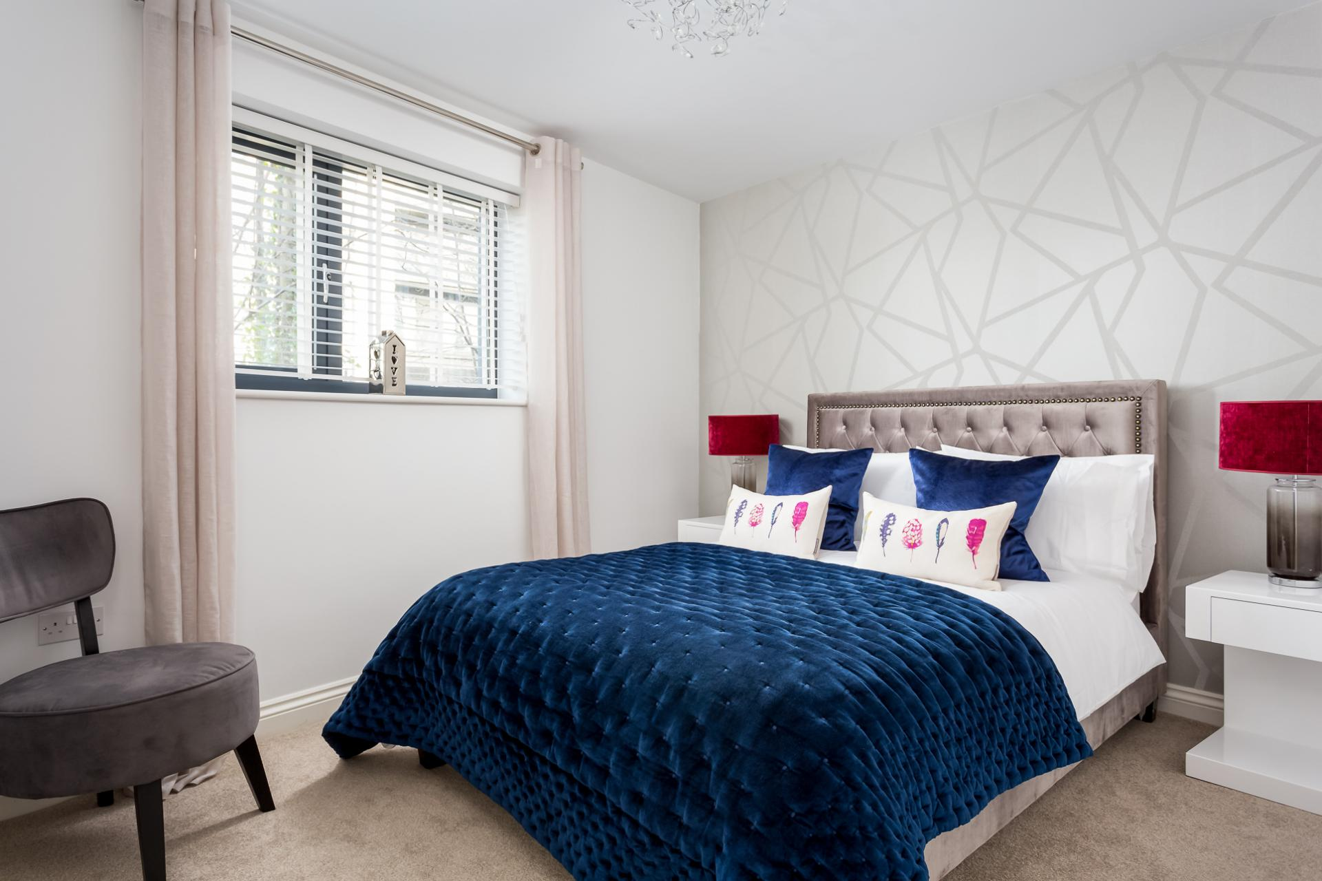 Double bedroom at St George's Road Apartment - Citybase Apartments