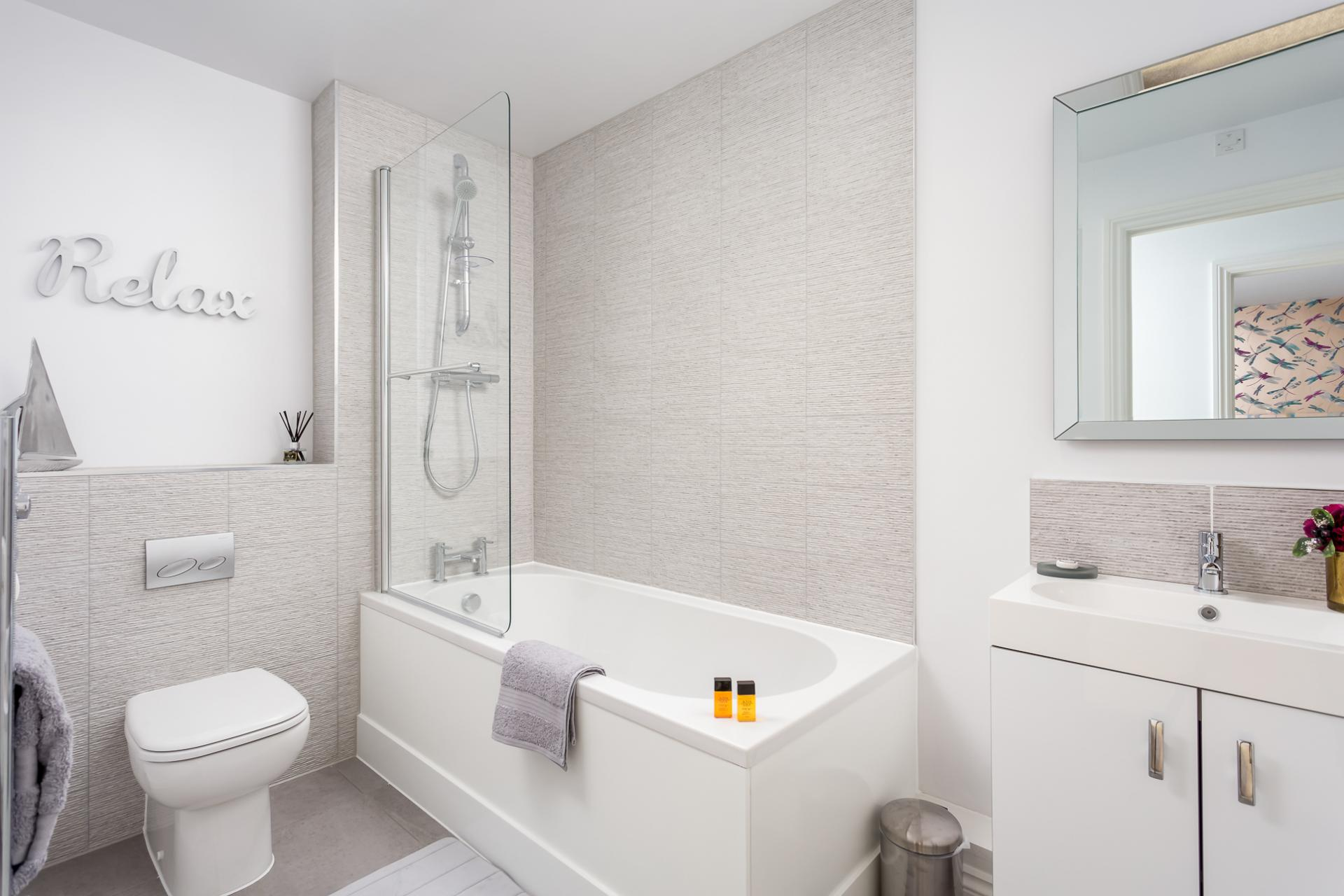 Bathroom at St George's Road Apartment - Citybase Apartments
