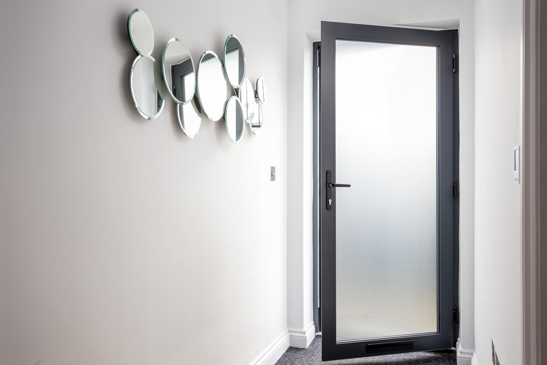 Private entrance at St George's Road Apartment - Citybase Apartments