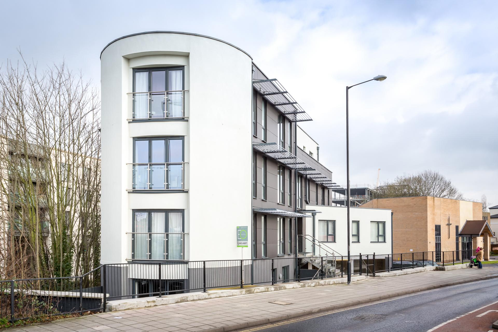 Exterior at St George's Road Apartment - Citybase Apartments