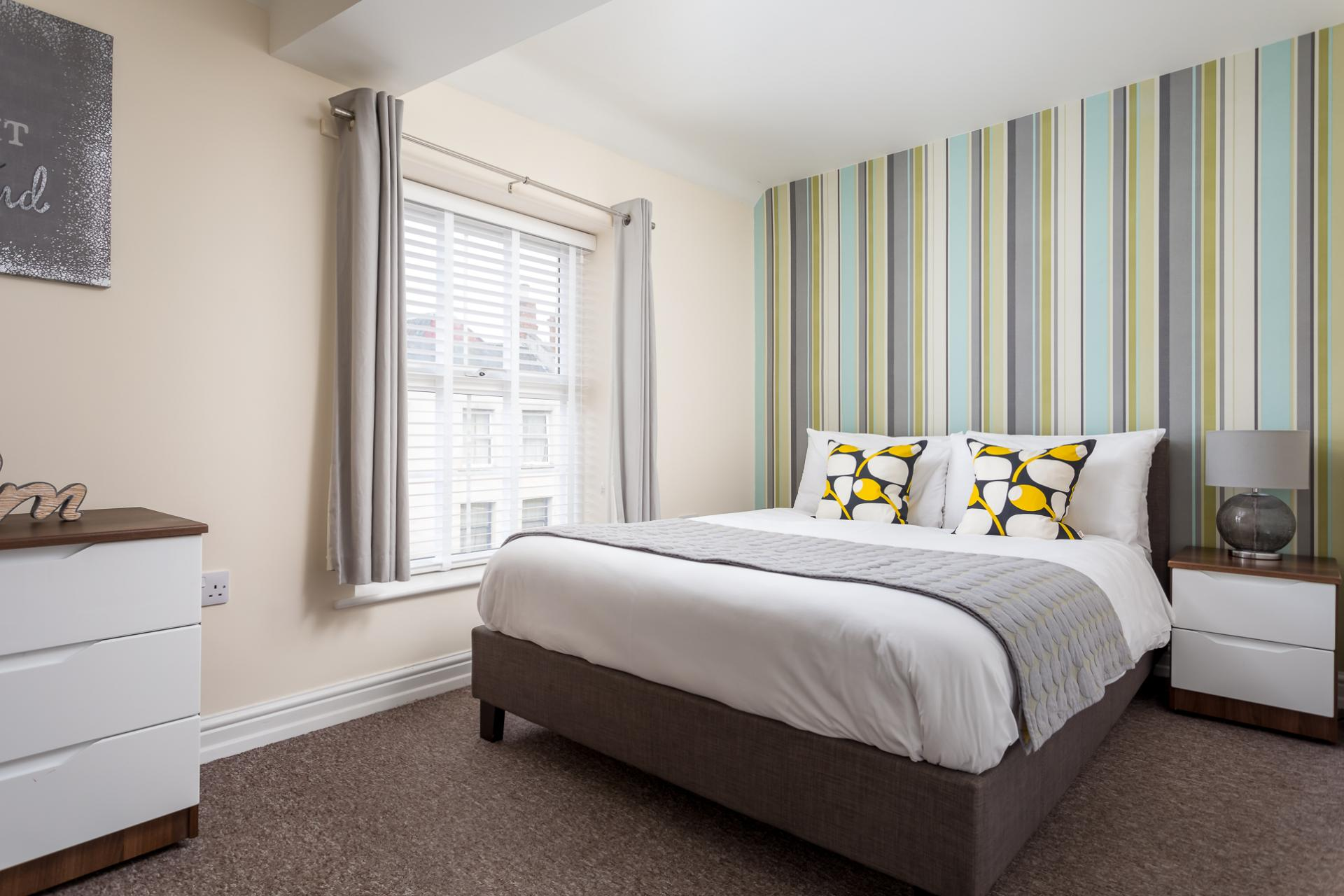 Bedroom 1 at High Street Serviced Apartment - Citybase Apartments