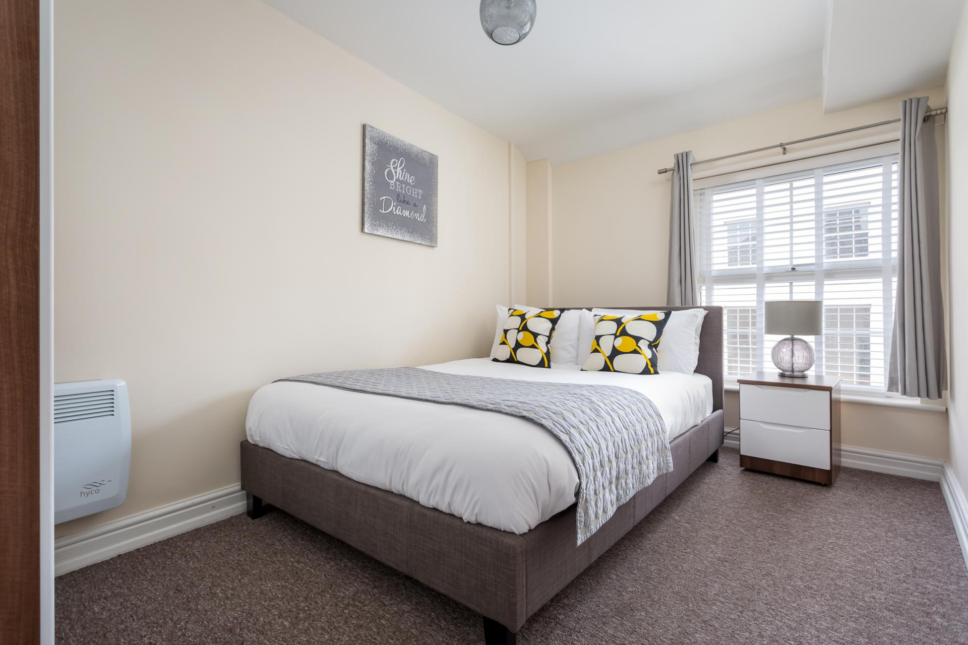 Bedroom 2 at High Street Serviced Apartment - Citybase Apartments
