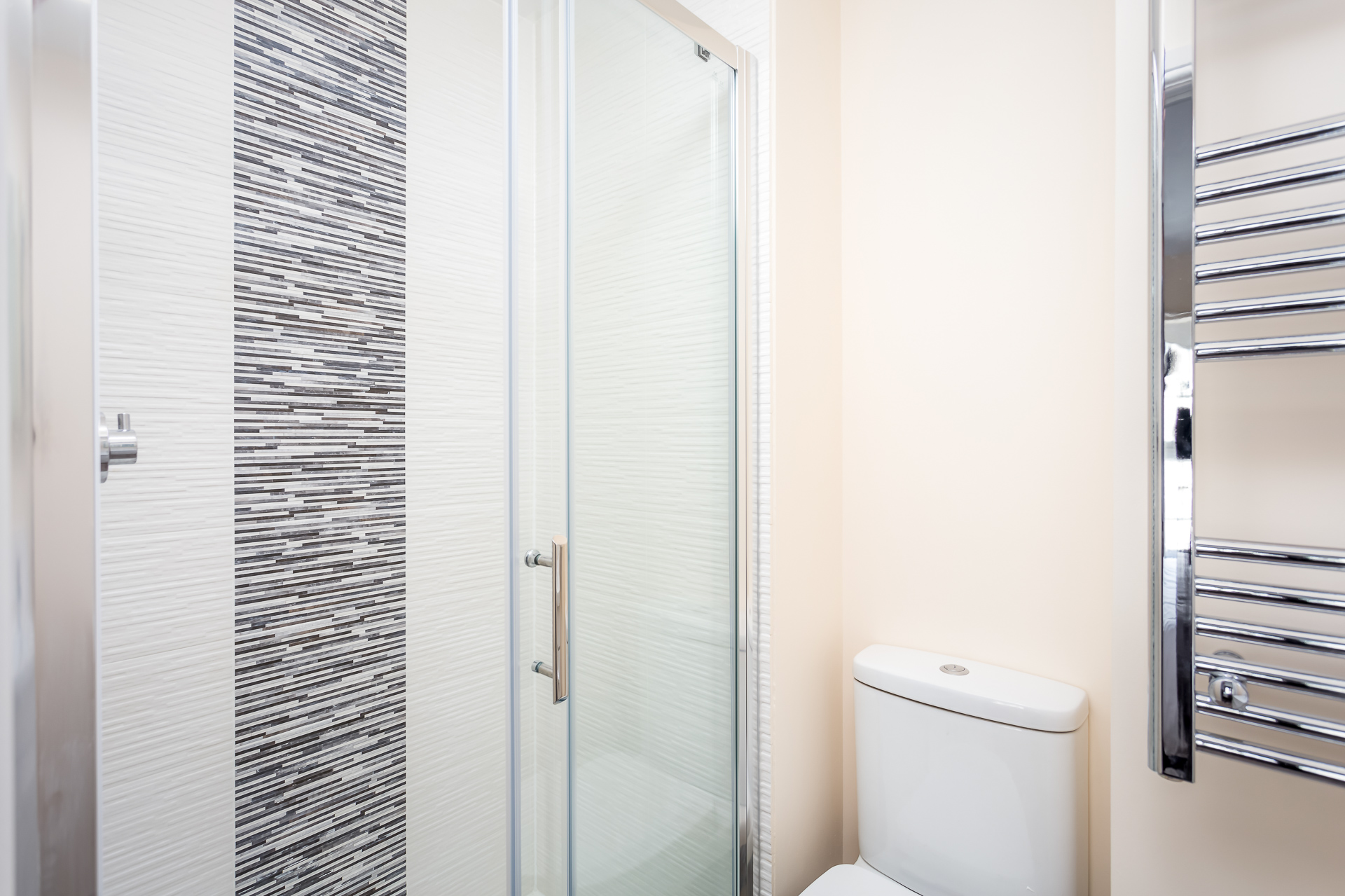 Shower at High Street Serviced Apartment - Citybase Apartments