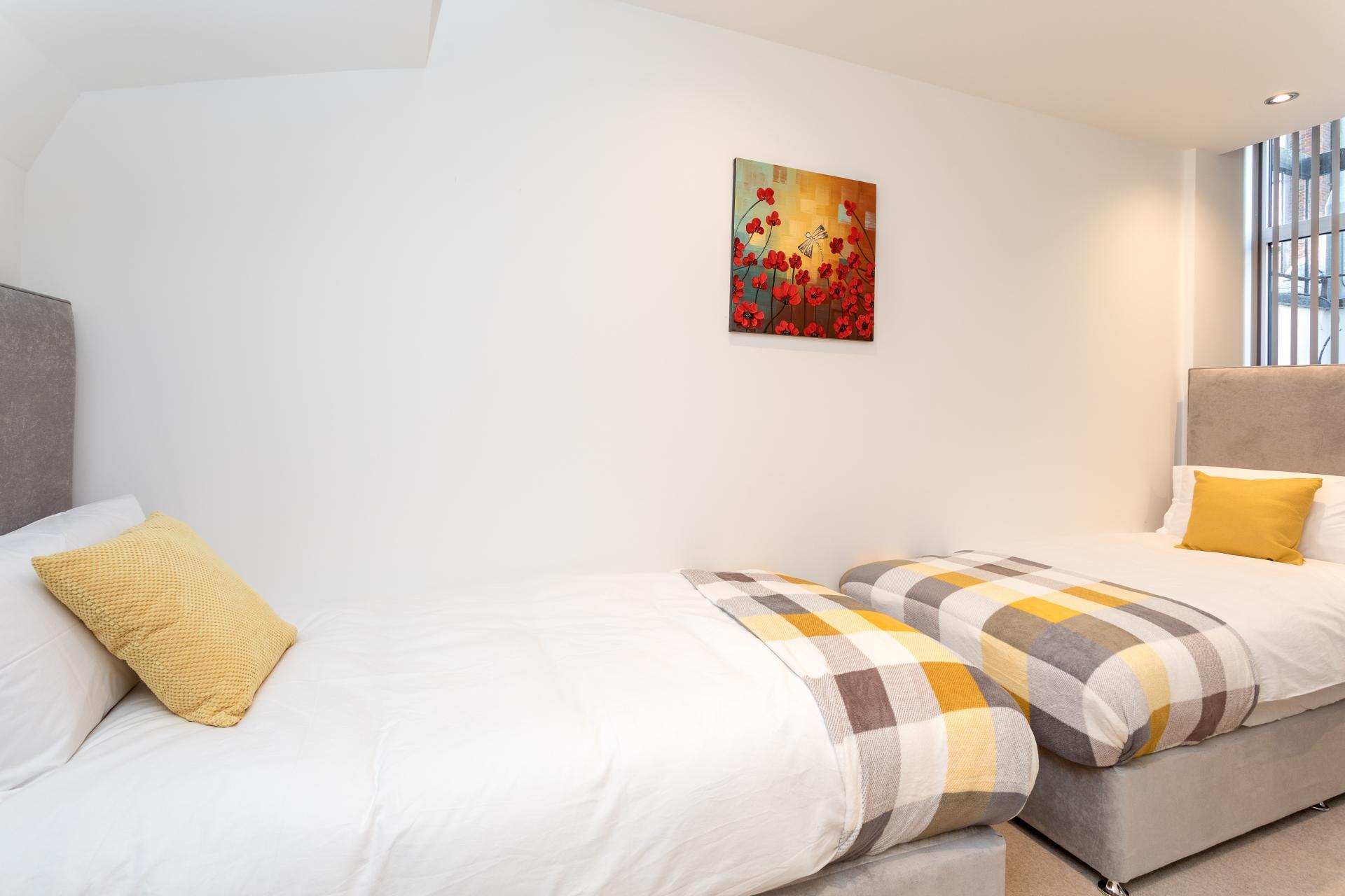 Twin room at v - Citybase Apartments