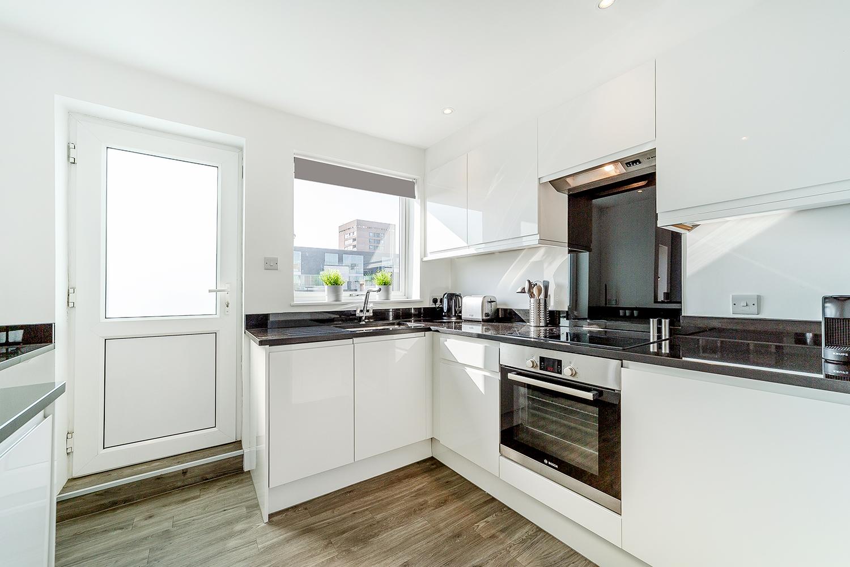 Kitchen at Marlborough Street Apartment - Citybase Apartments