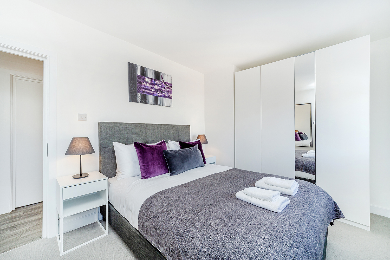 Bedroom at Marlborough Street Apartment - Citybase Apartments