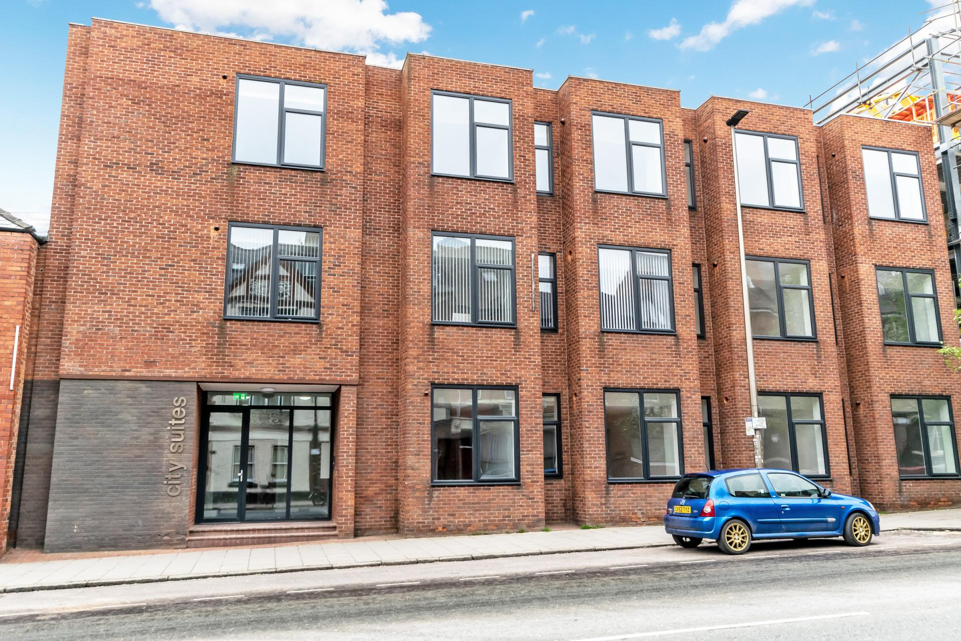 Building at City Suites Apartments - Citybase Apartments