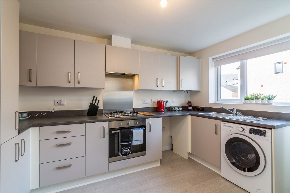 Oven at Blackstone Walk House - Citybase Apartments