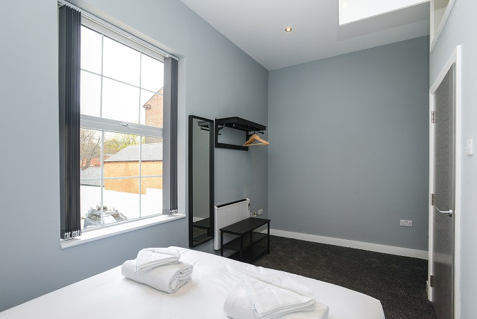 Bedroom at Arena Serviced Apartments - Citybase Apartments