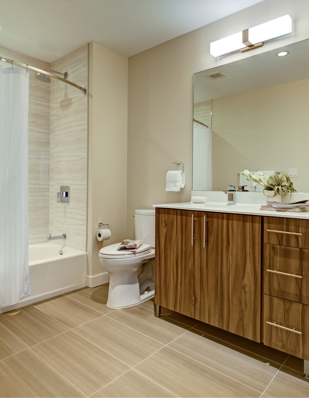 Bathroom at The Benjamin Serviced Apartments - Citybase Apartments