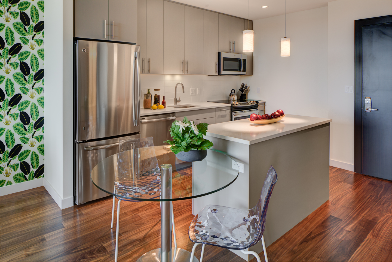 Kitchen at The Benjamin Serviced Apartments - Citybase Apartments